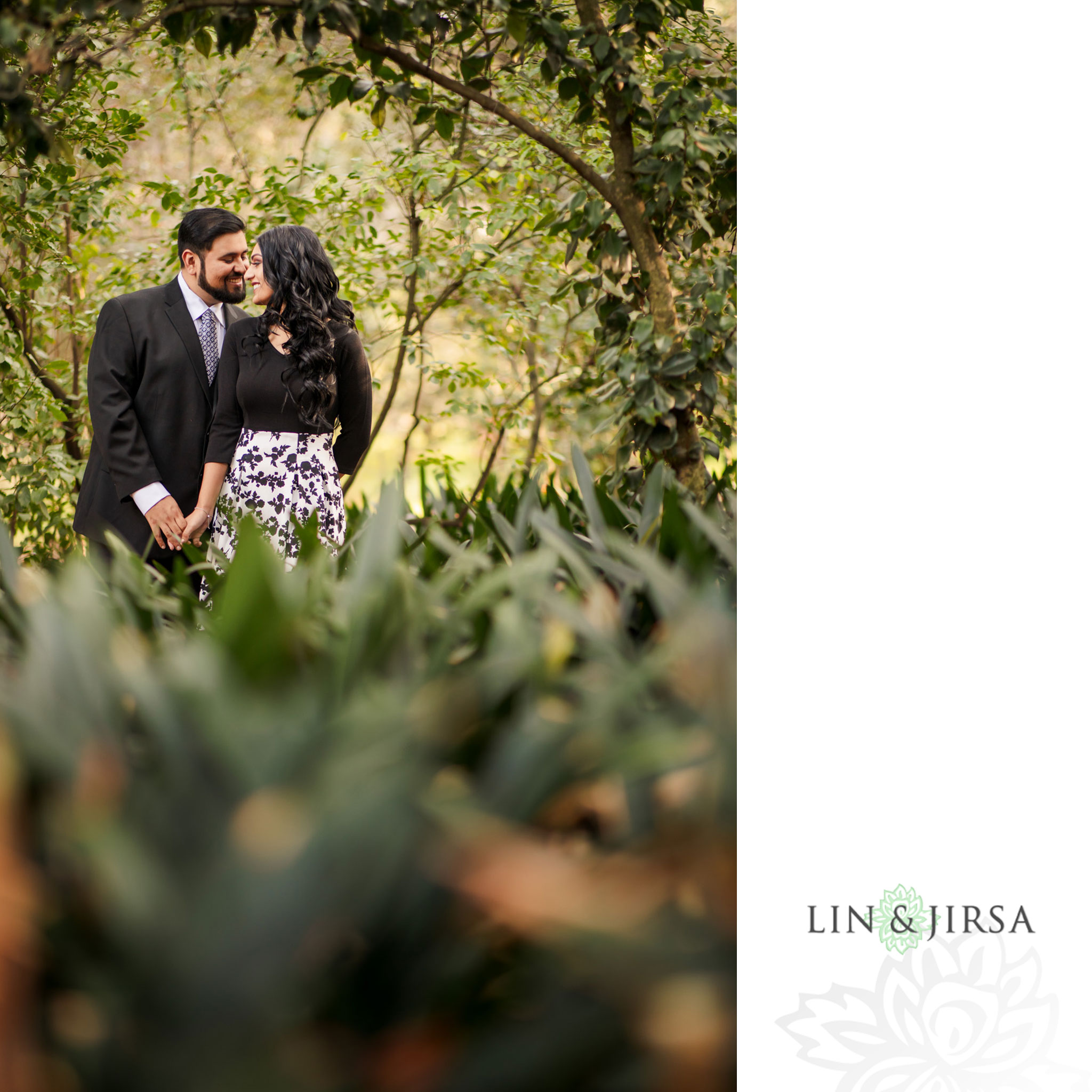007 descanso gardens los angeles county engagement session