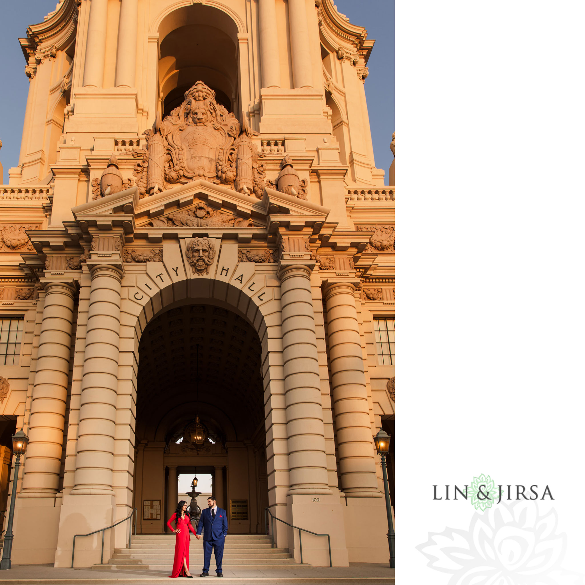 012 pasadena city hall engagement session