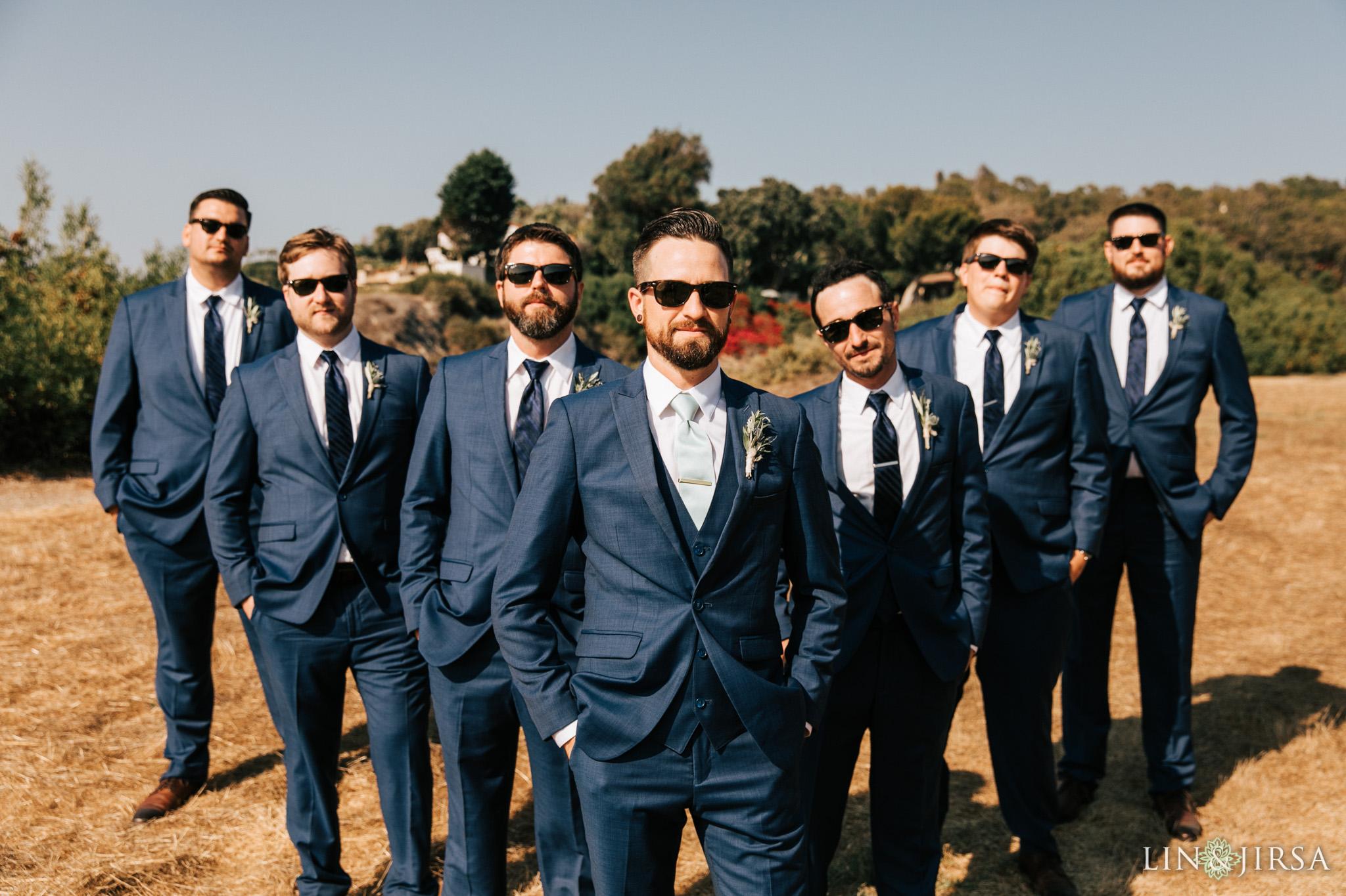 014 los verdes golf course groomsmen wedding photography