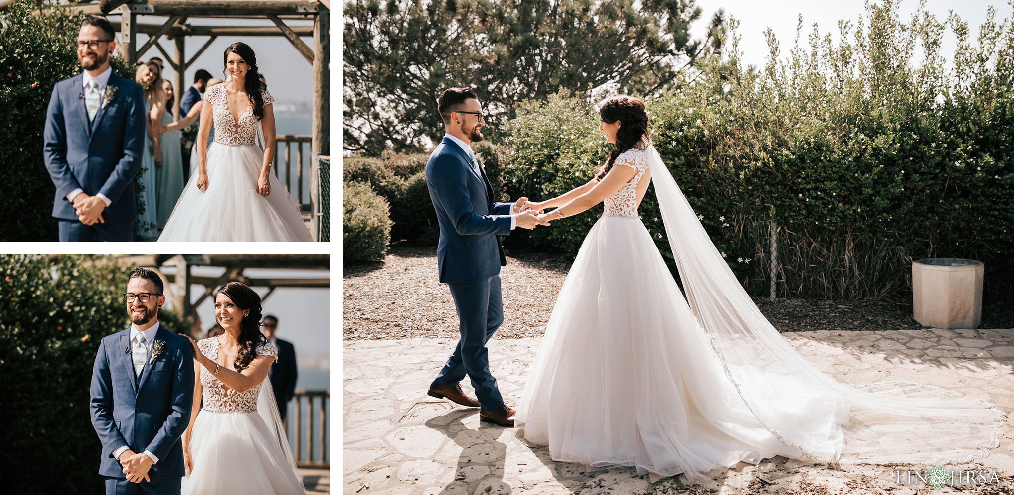 015 los verdes golf course wedding first look photography