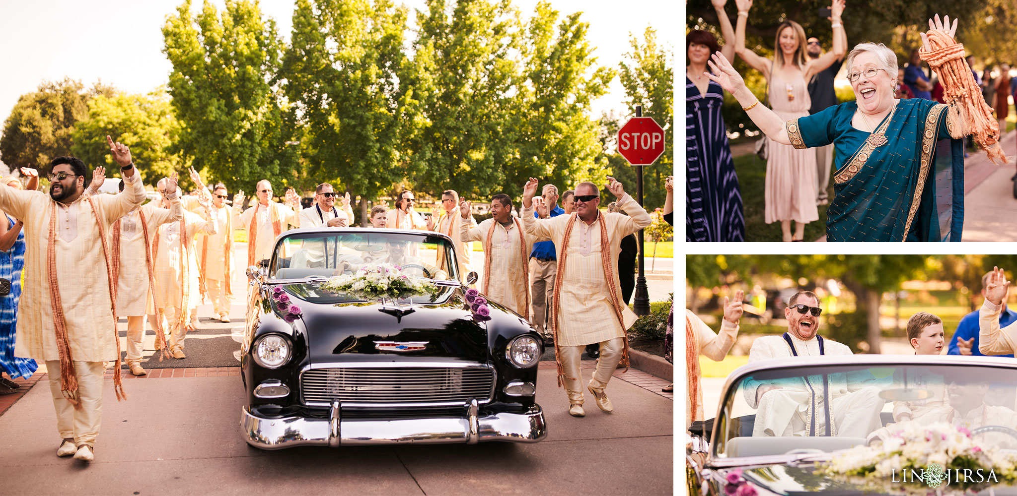 016 sherwood country club indian baraat wedding photography