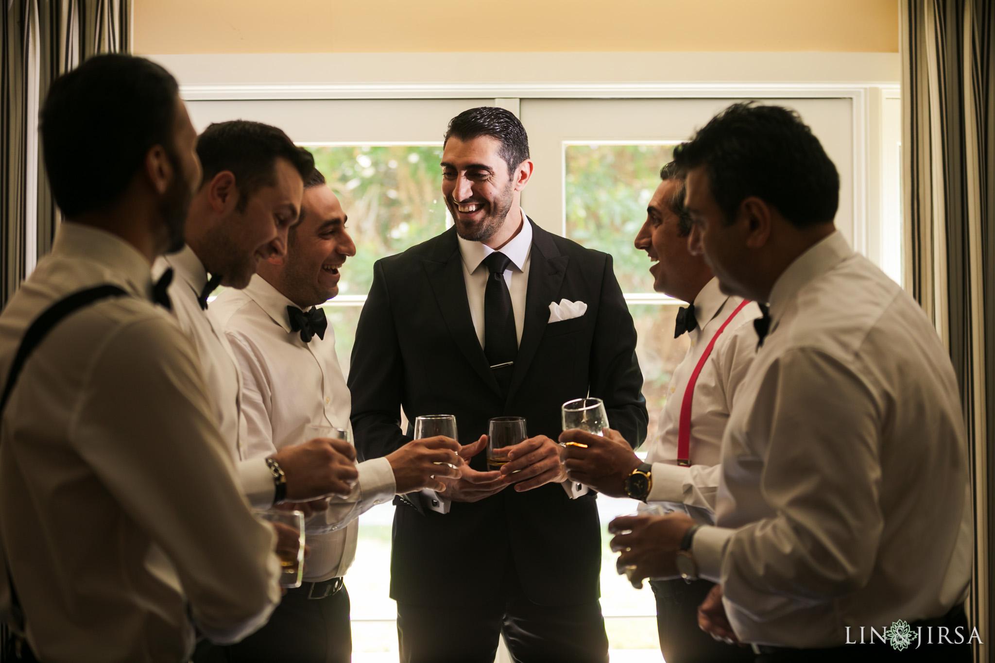 019 estancia la jolla hotel spa persian groomsmen wedding photography