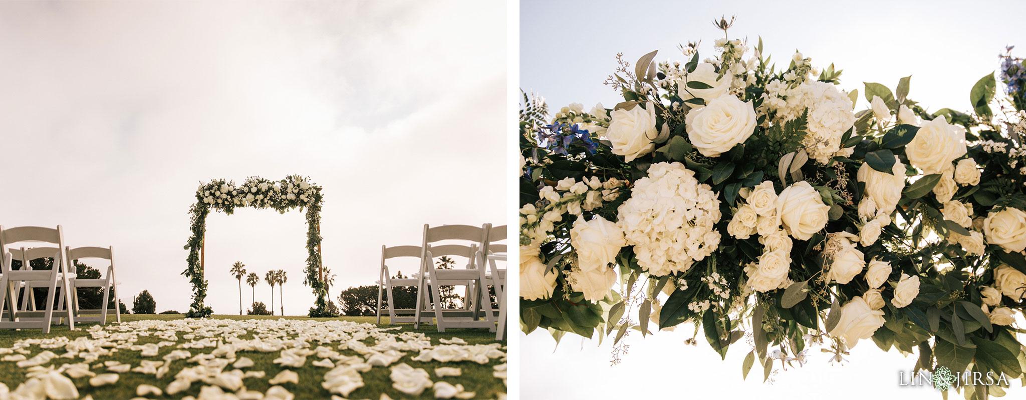 021 los verdes golf course wedding ceremony photography