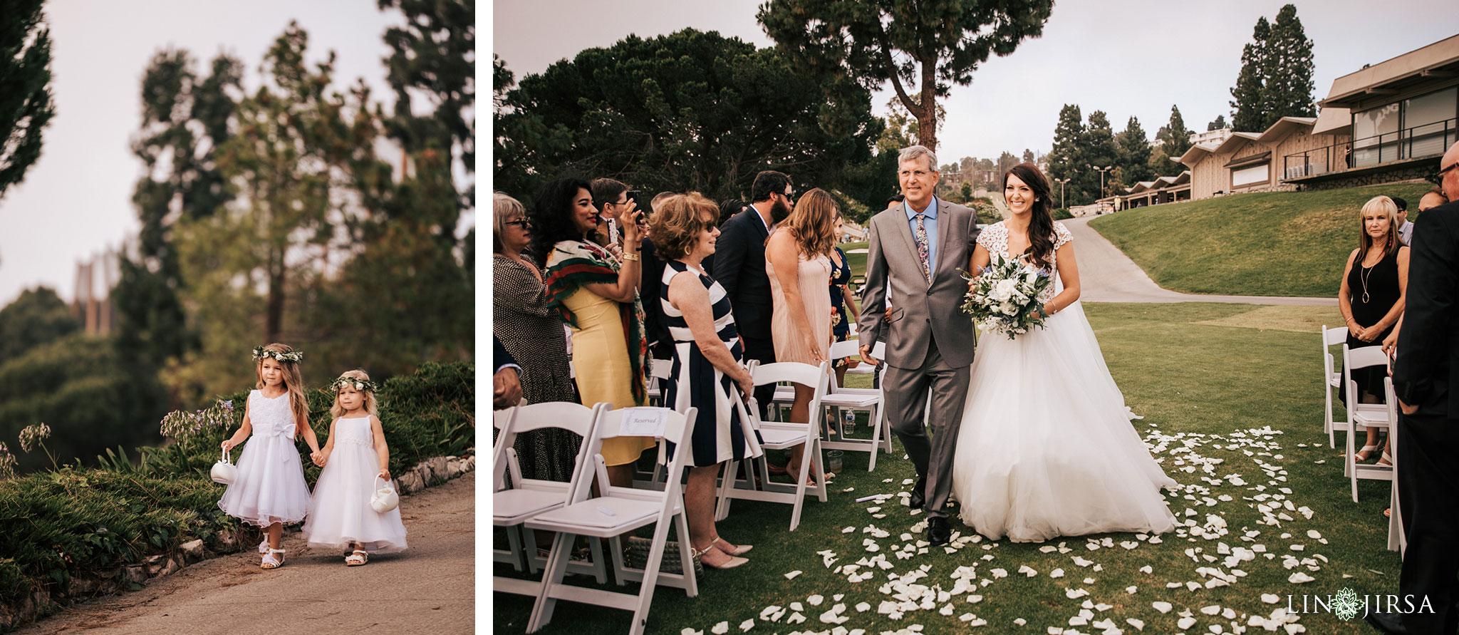 023 los verdes golf course wedding ceremony photography