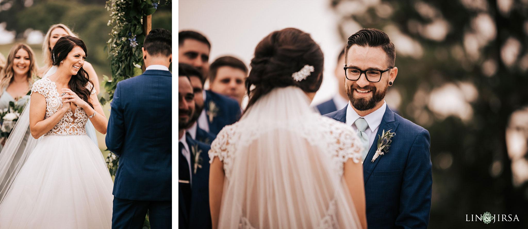 027 los verdes golf course wedding ceremony photography