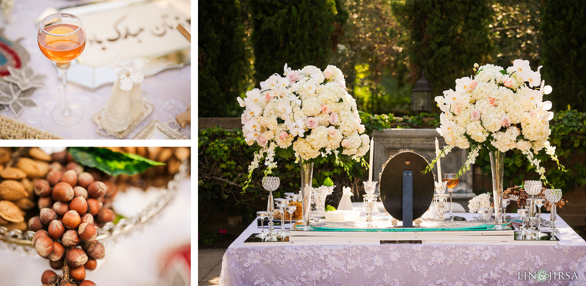 028 estancia la jolla hotel spa persian sofreh wedding ceremony photography