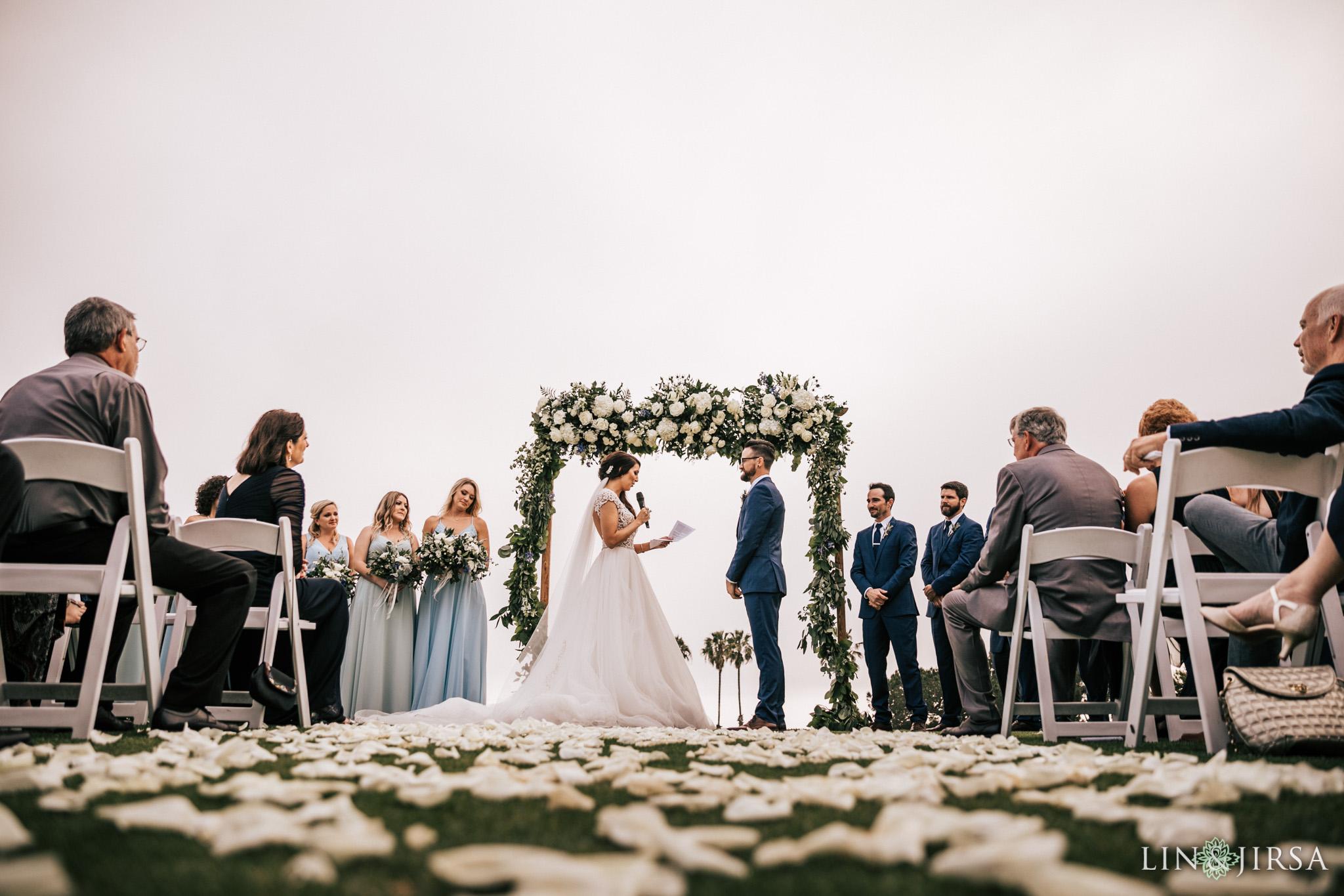 028 los verdes golf course wedding ceremony photography