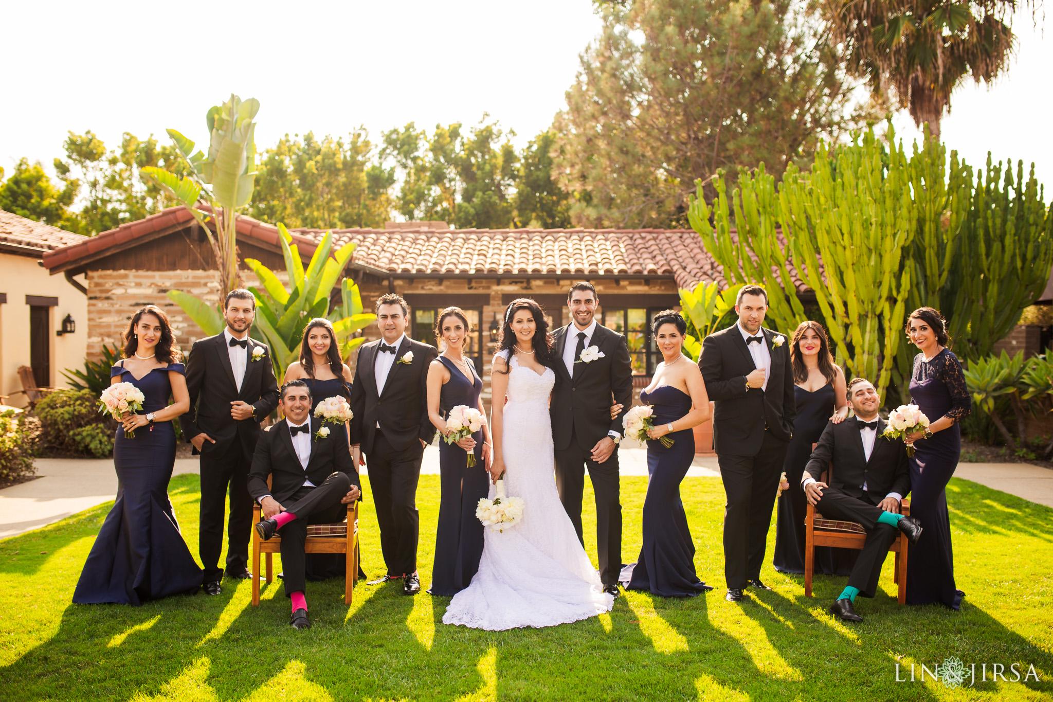 037 estancia la jolla hotel spa persian wedding party photography