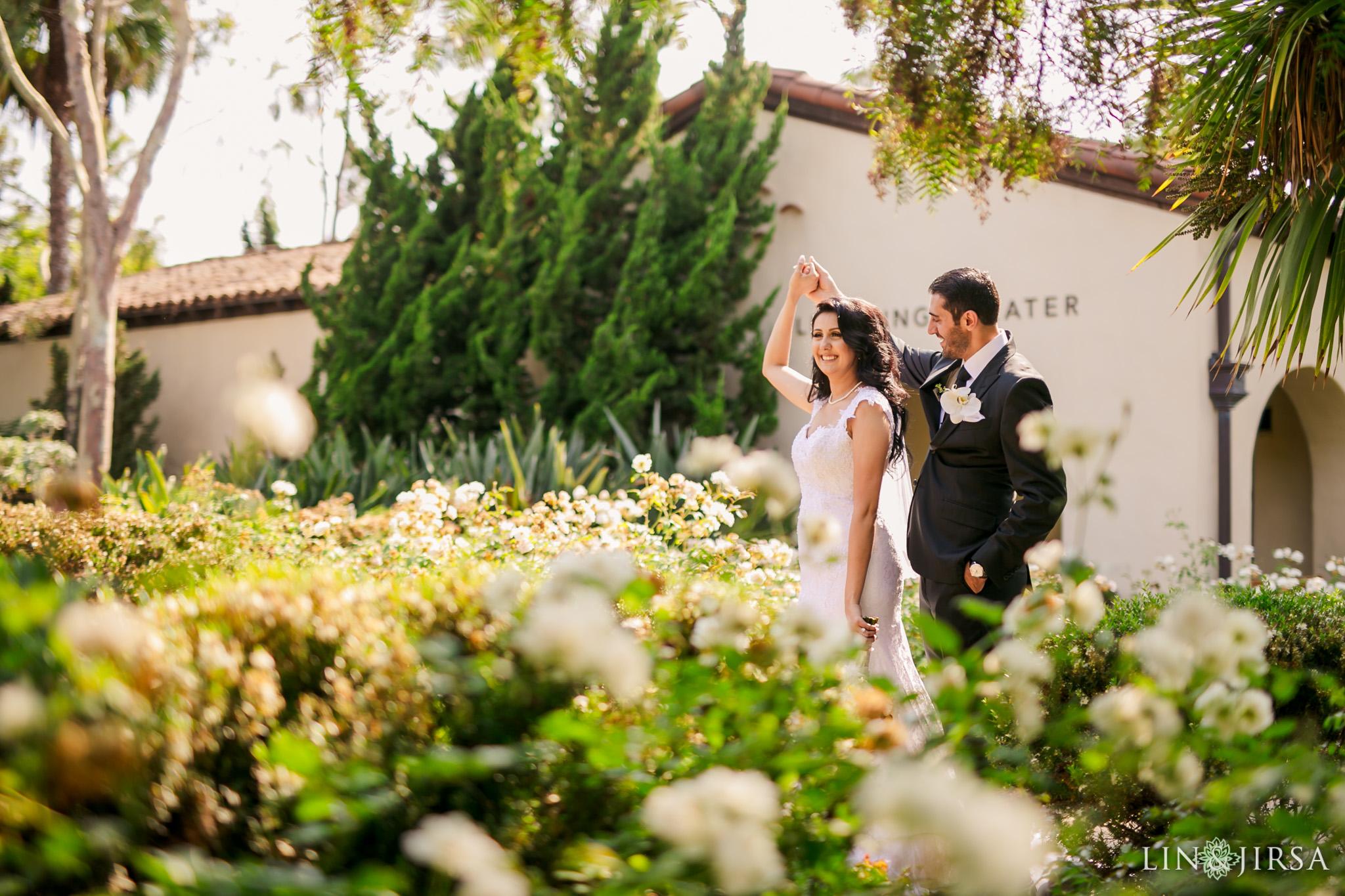 038 estancia la jolla hotel spa persian couple wedding photography