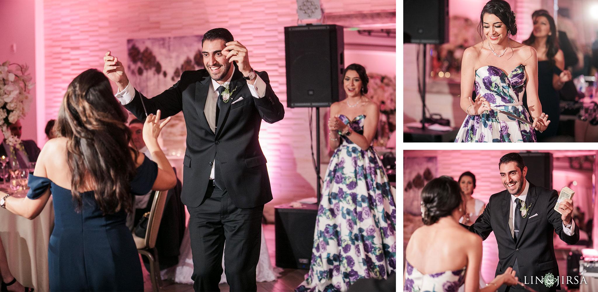 050 estancia la jolla hotel spa persian wedding reception photography