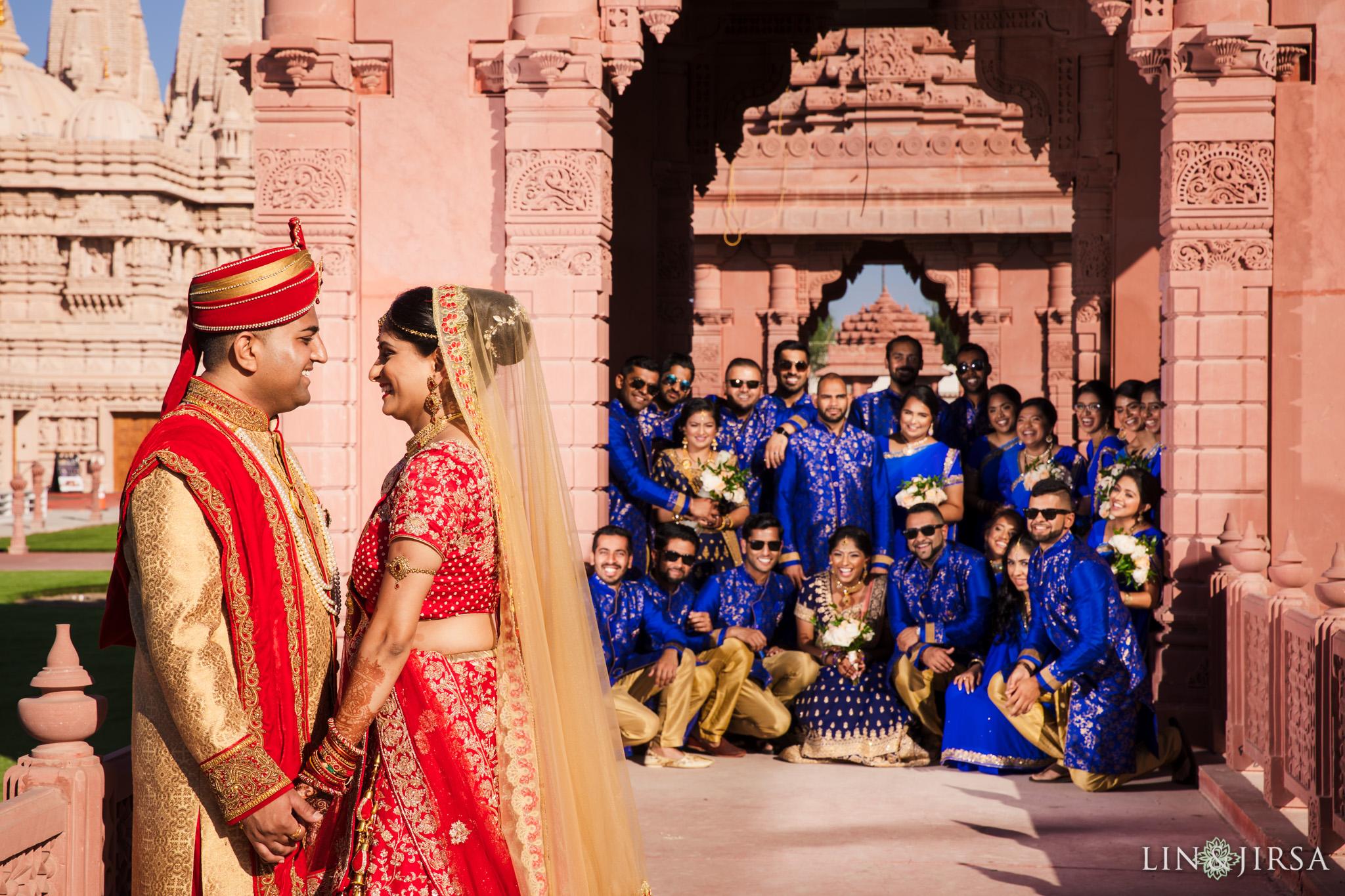 073 BAPS Swaminarayan Sanstha Chino Hills Indian Wedding Photography