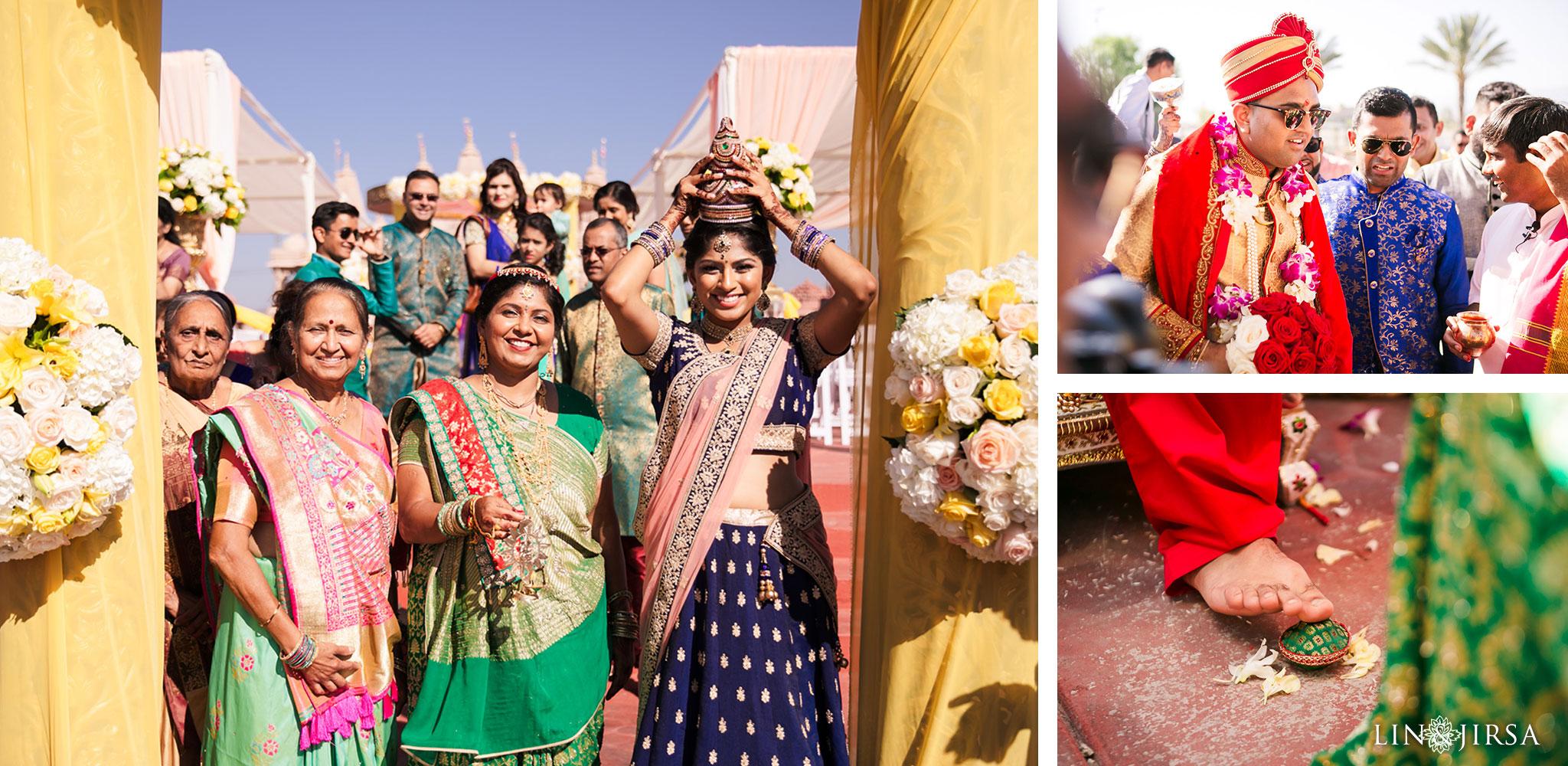 082 BAPS Swaminarayan Sanstha Chino Hills Indian Wedding Photography