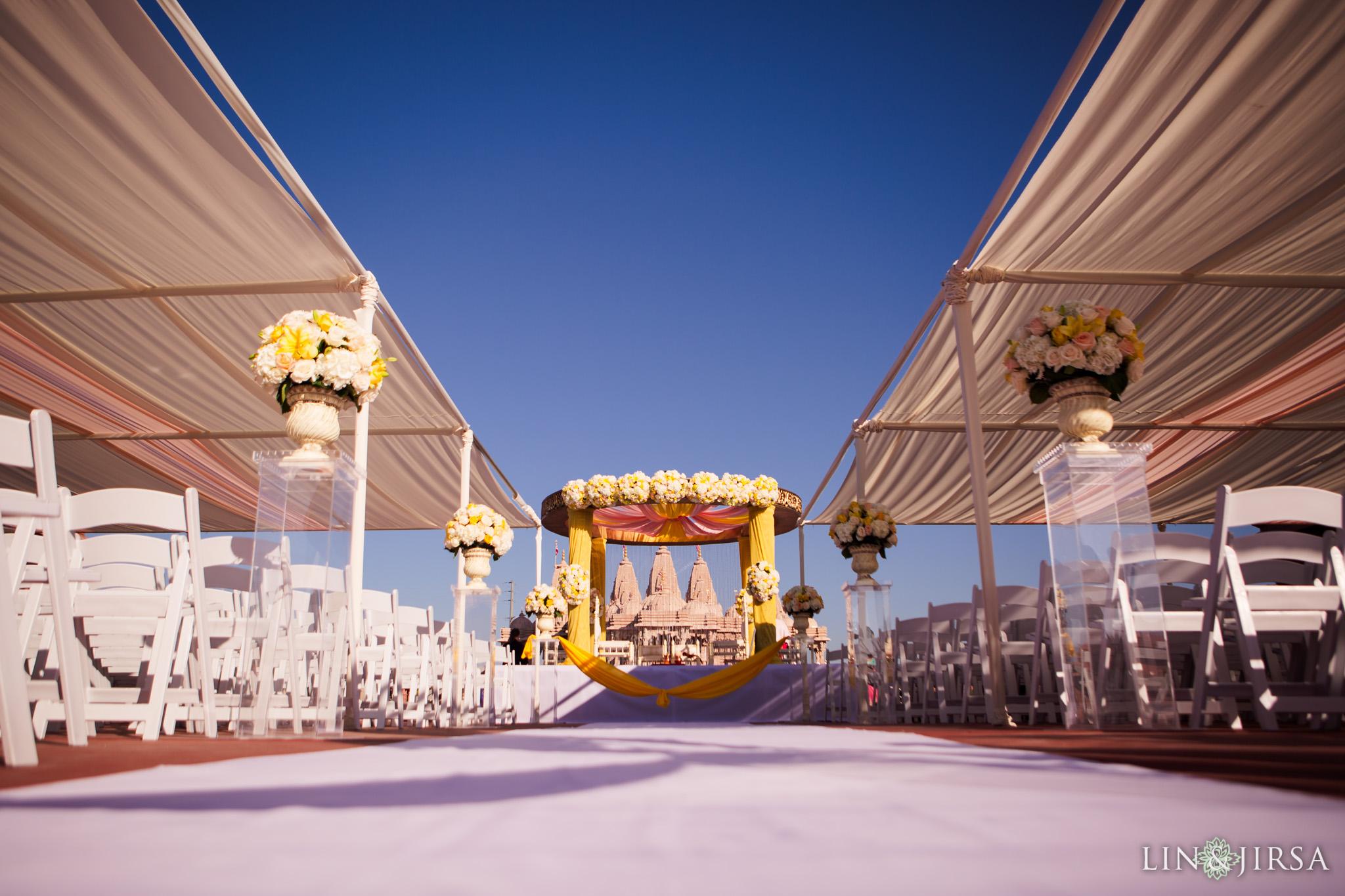 083 BAPS Swaminarayan Mandir Chino Hills Indian Wedding Photography