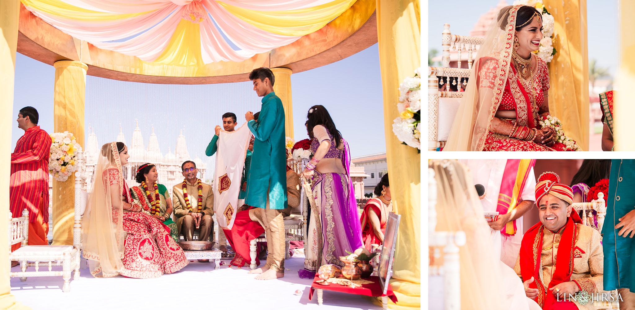 087 BAPS Swaminarayan Sanstha Chino Hills Indian Wedding Photography