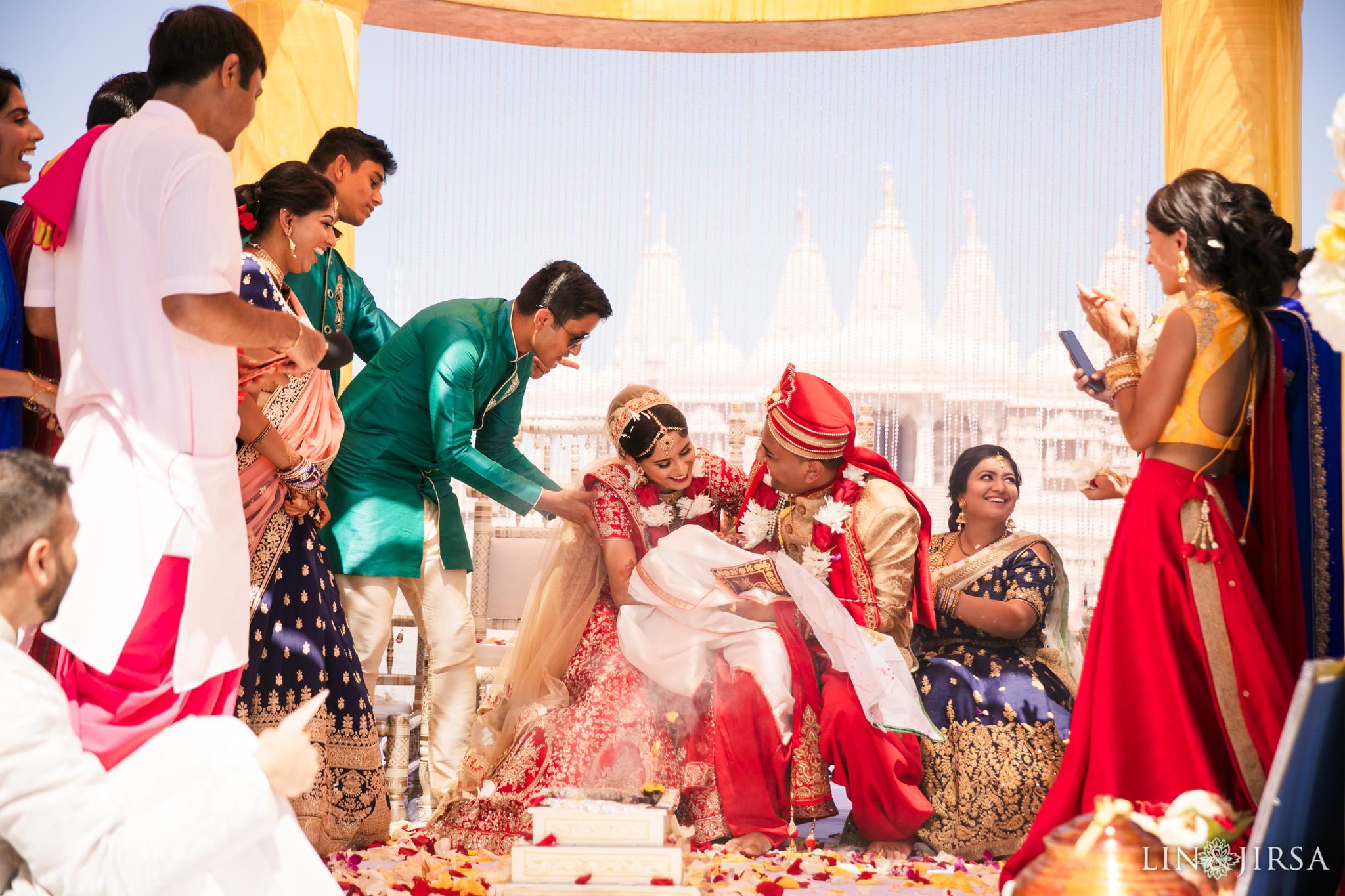 088 BAPS Swaminarayan Sanstha Chino Hills Indian Wedding Photography