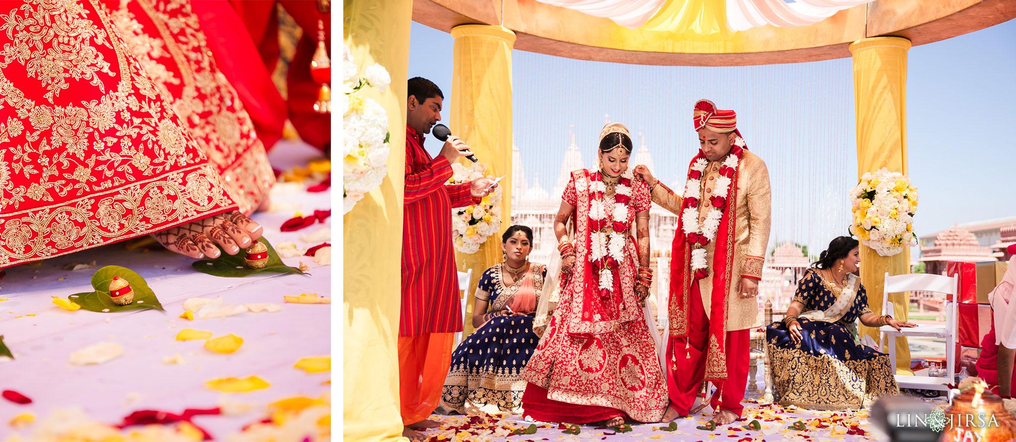 090 BAPS Swaminarayan Sanstha Chino Hills Indian Wedding Photography