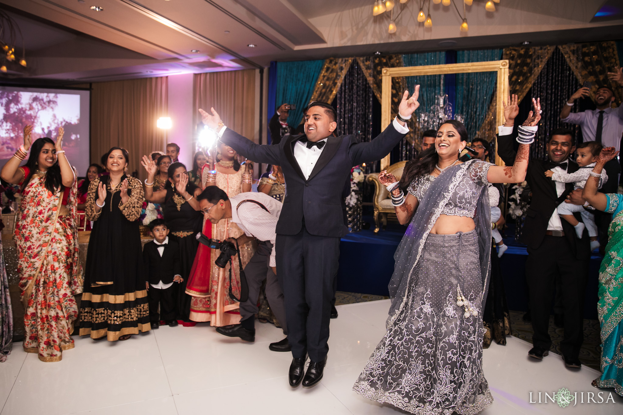 101 Pacific Palms Resort Los Angeles County Indian Wedding Photography