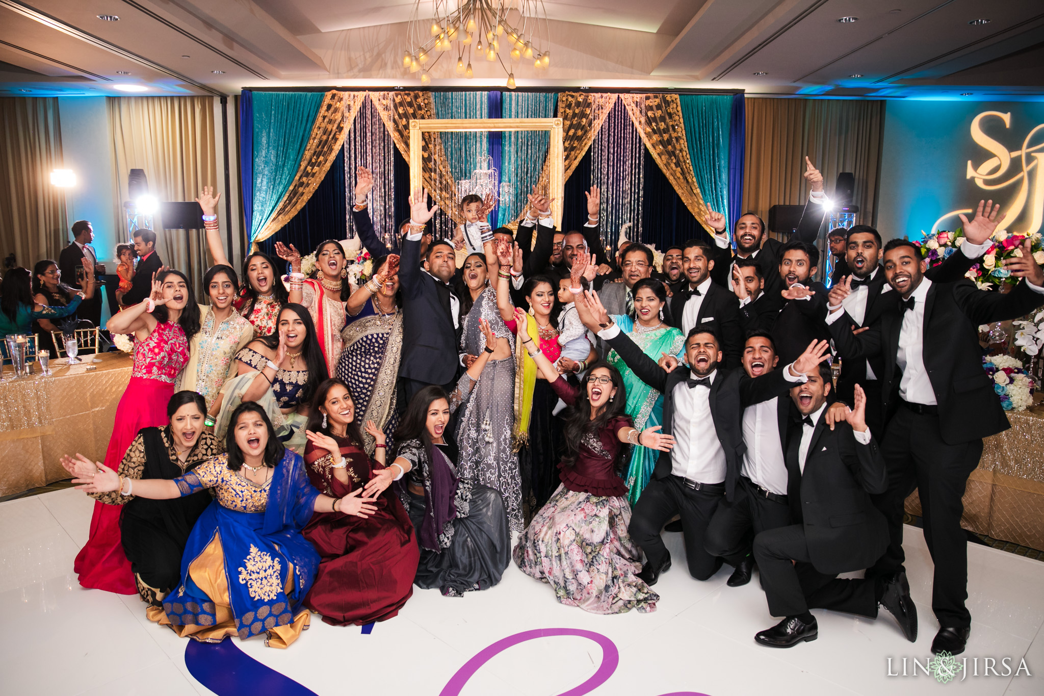 102 Pacific Palms Resort Los Angeles County Indian Wedding Photography