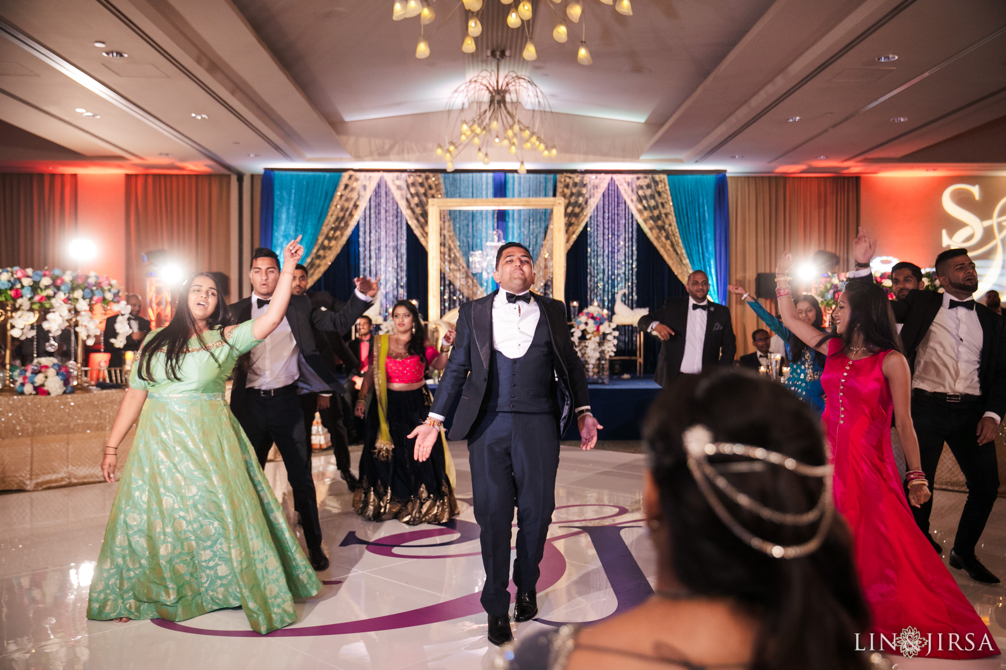 108 Pacific Palms Resort Los Angeles County Indian Wedding Photography