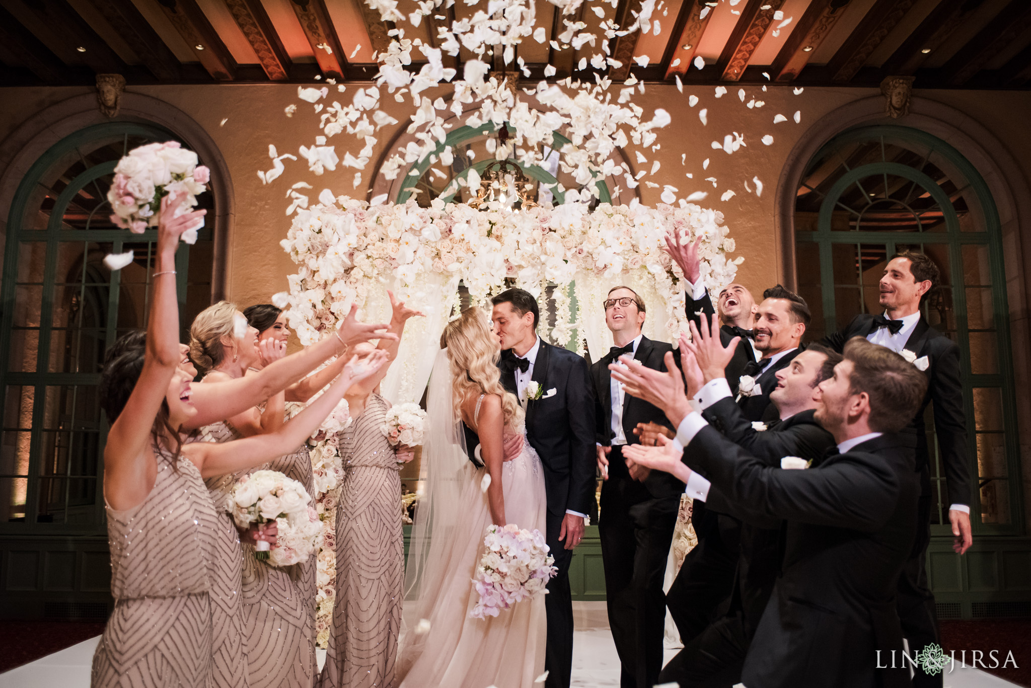 014 millennium biltmore hotel los angeles wedding photography