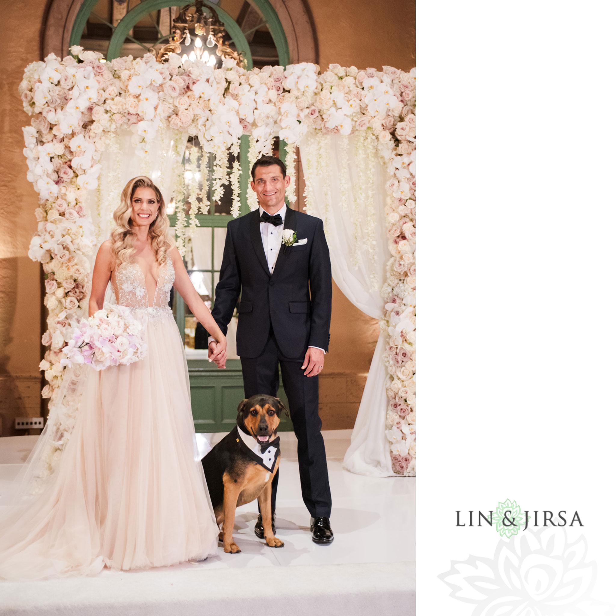 015 millennium biltmore hotel los angeles wedding photography