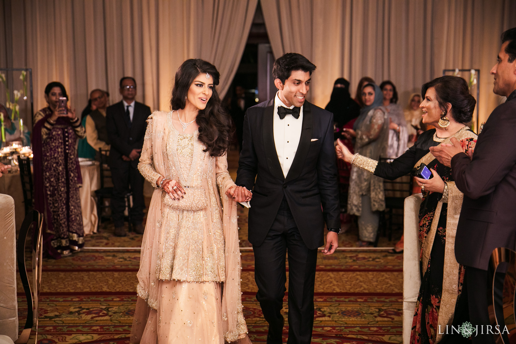 016 four seasons westlake village muslim wedding reception photography