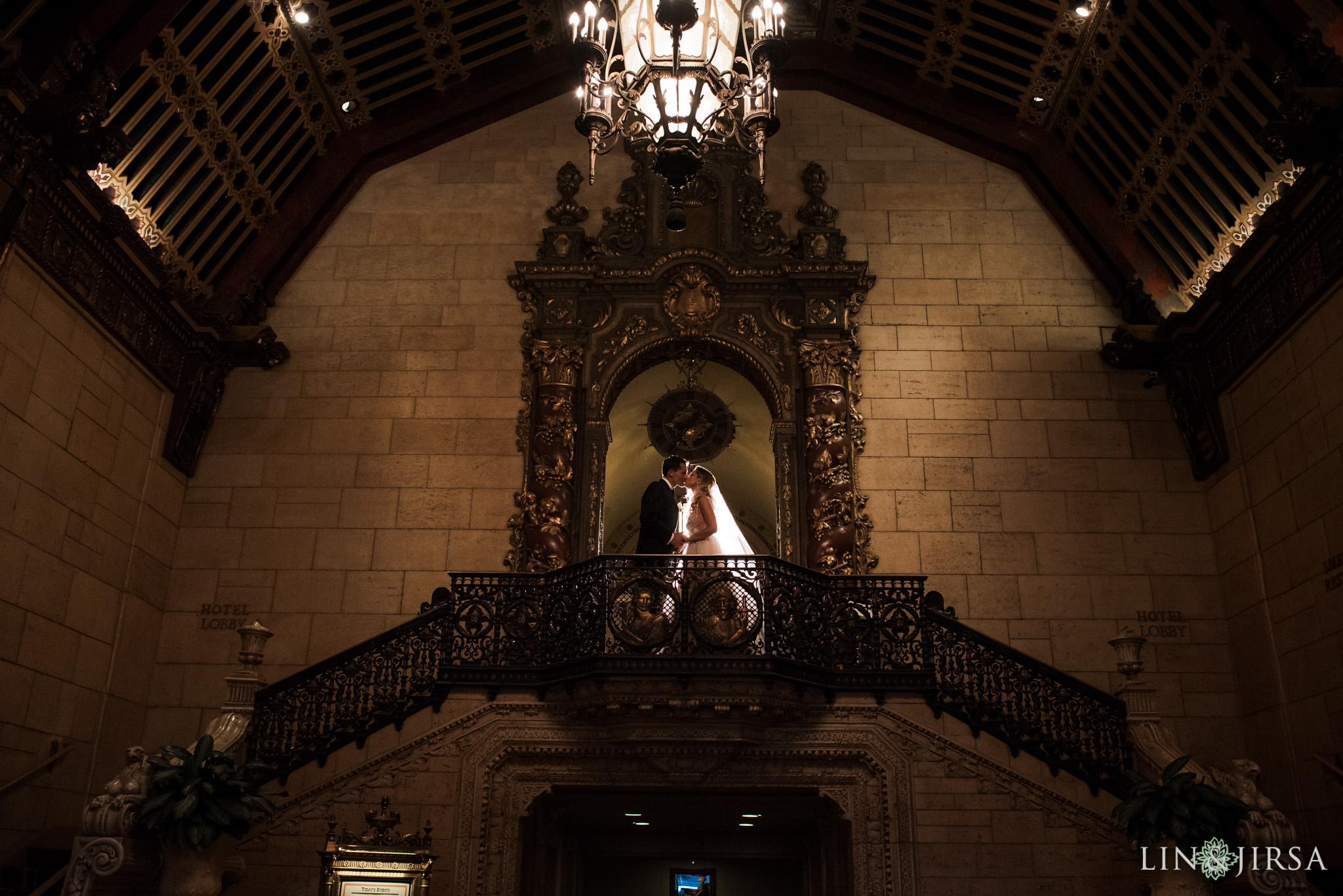 016 millennium biltmore hotel los angeles wedding photography