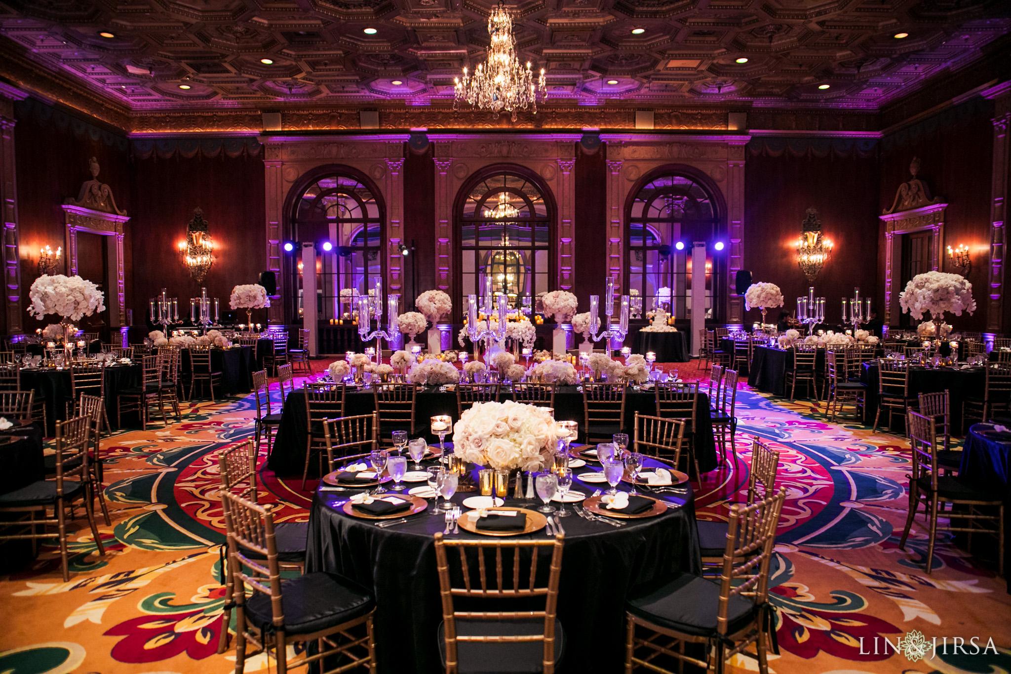 018 millennium biltmore hotel los angeles wedding photography