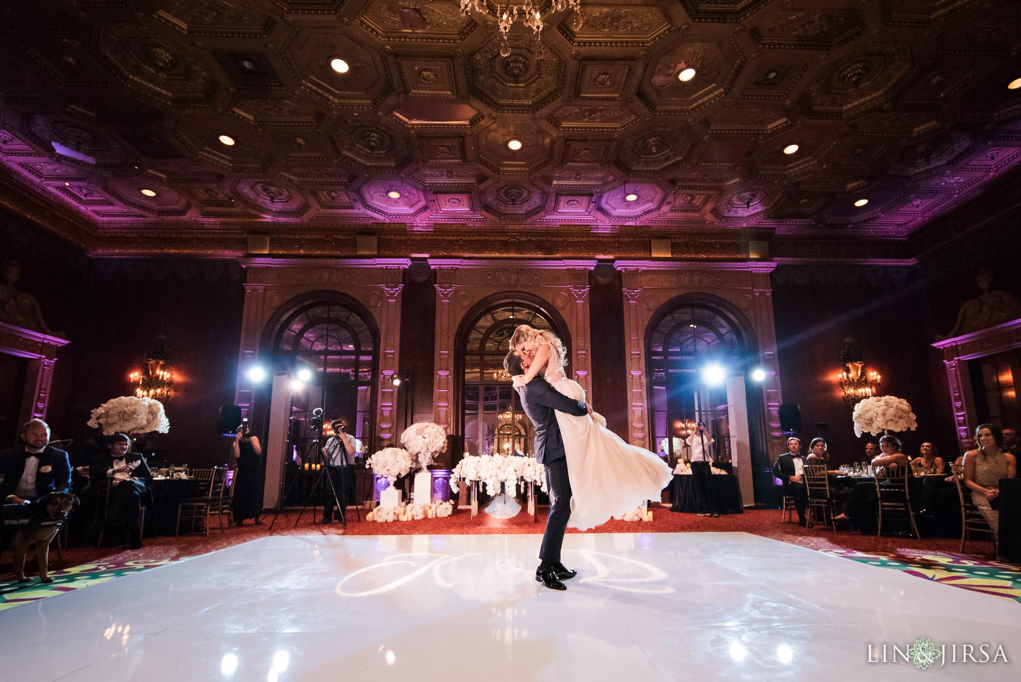 023 millennium biltmore hotel los angeles wedding photography