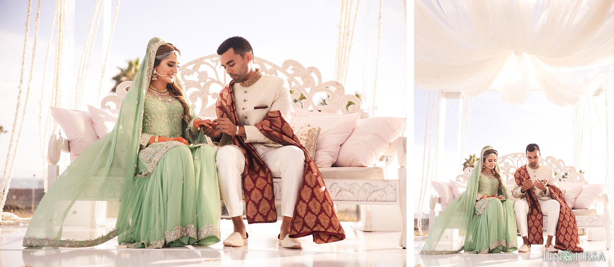 023 pasea hotel huntington beach pakistani wedding ceremony photography