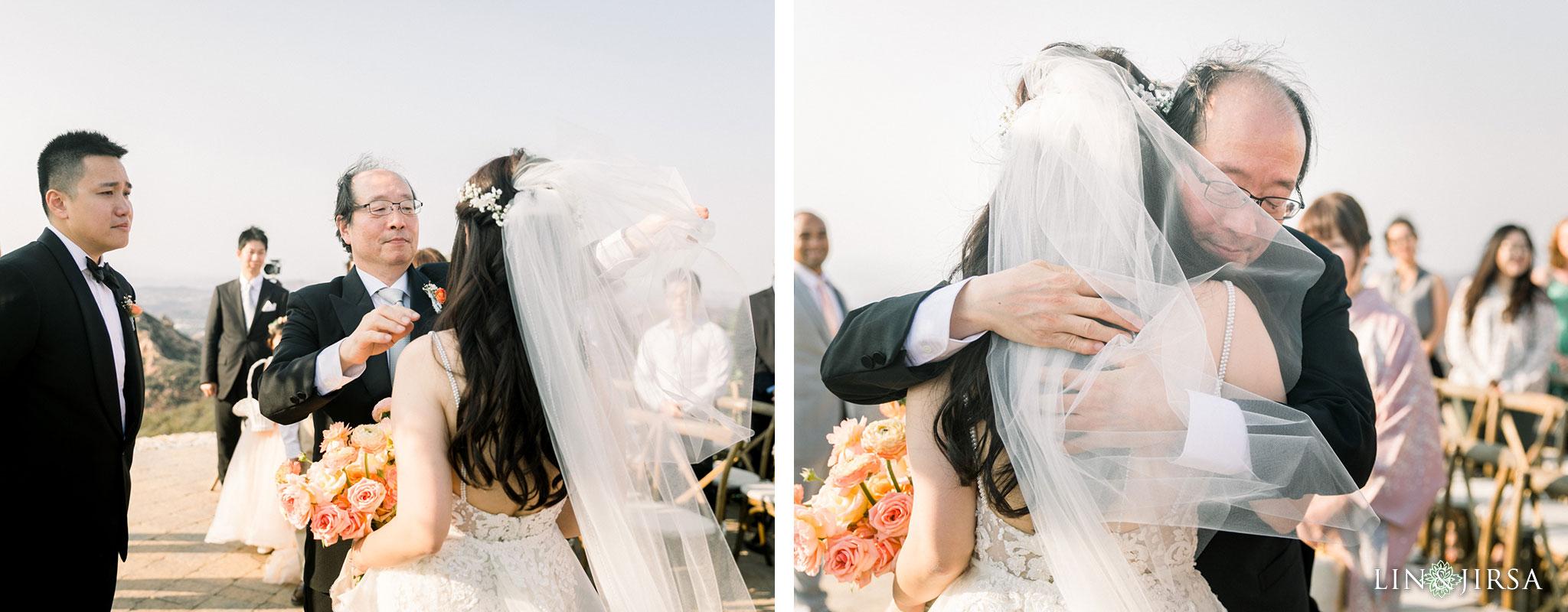 026 malibu rocky oaks filmic wedding photography