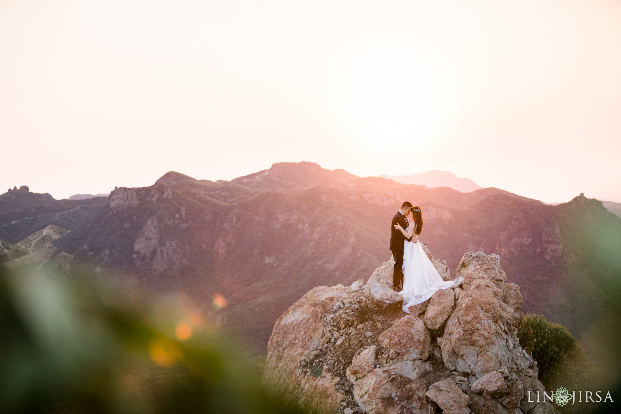 035 malibu rocky oaks filmic wedding photography
