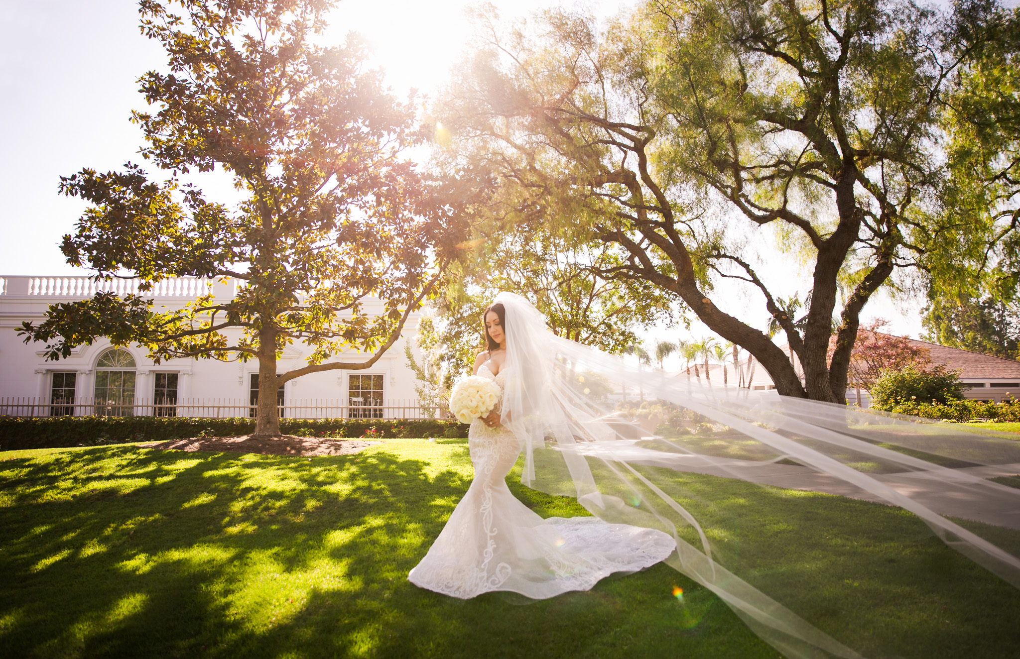 05 Richard Nixon Library Yorba Linda Wedding Photography