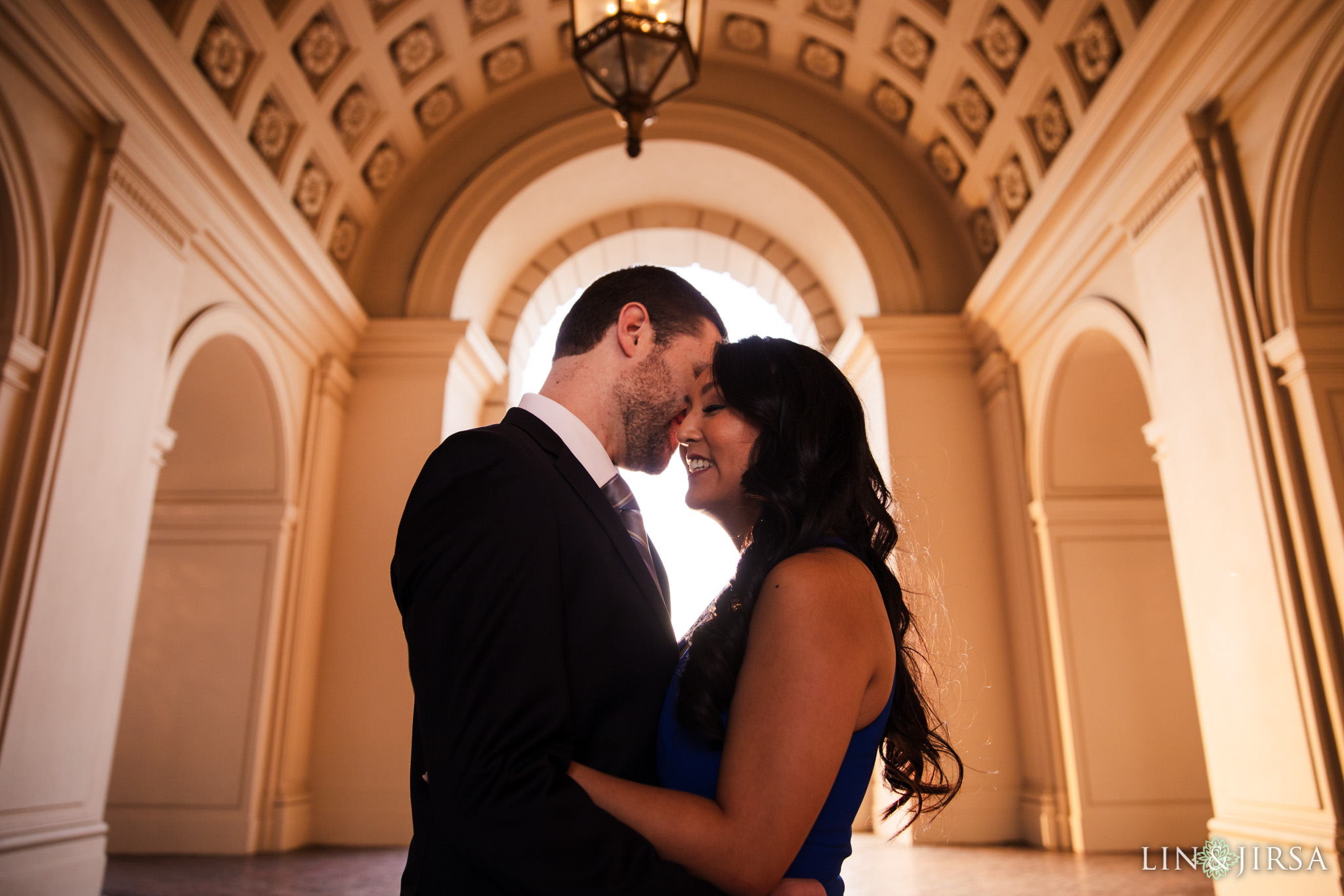 09 pasadena city hall engagement photography