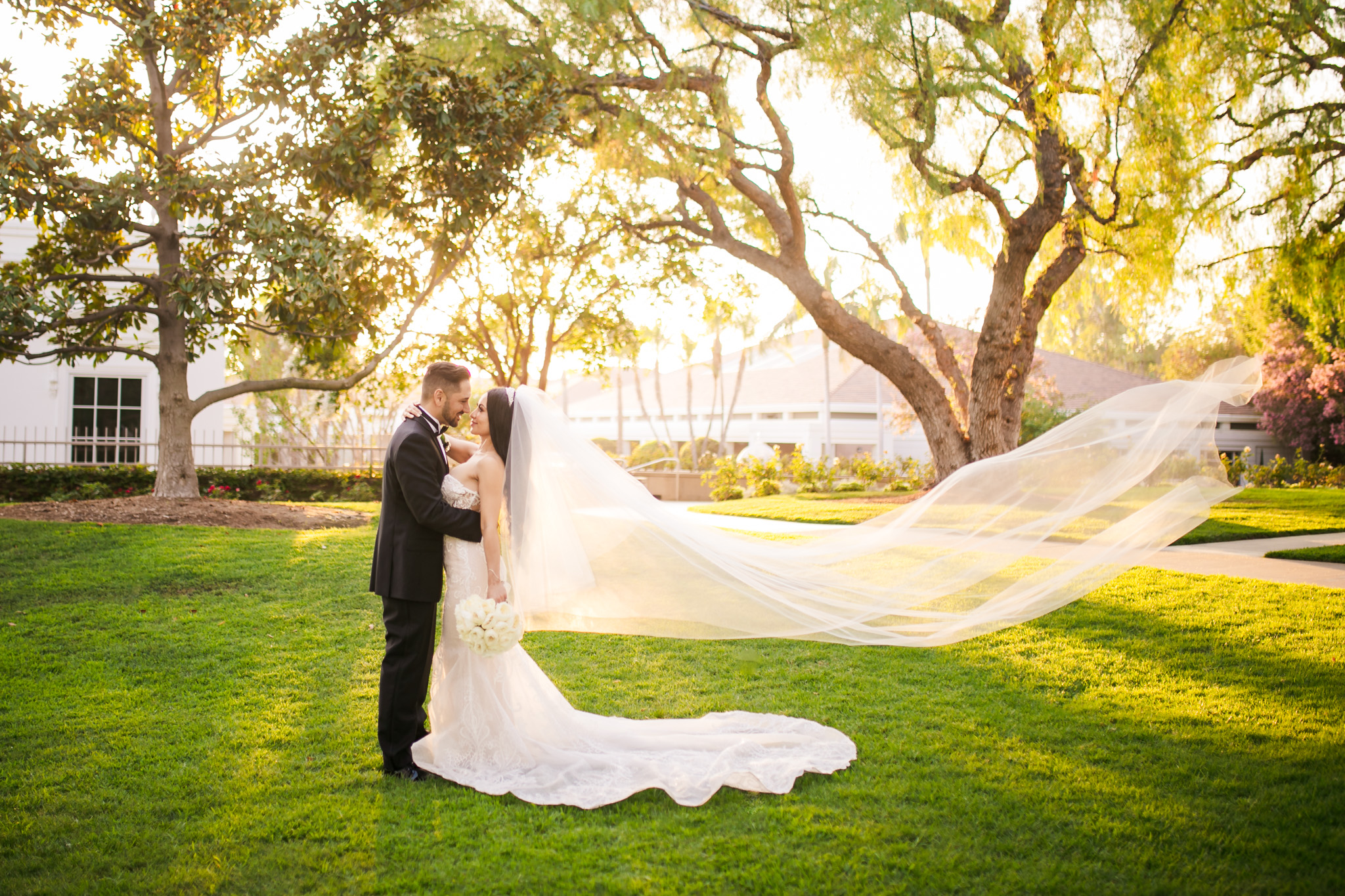 10 Richard Nixon Library Yorba Linda Wedding Photography