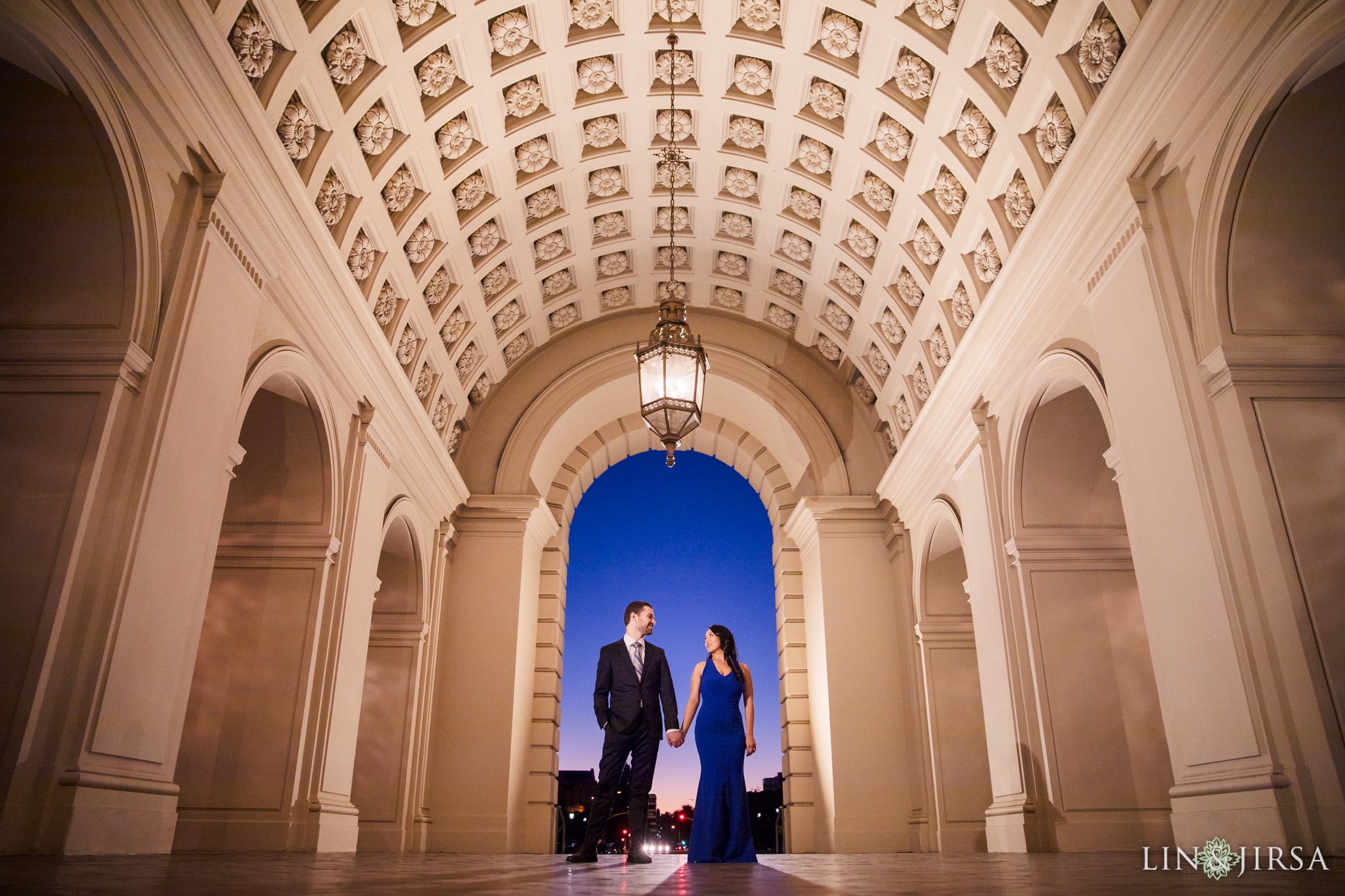 10 pasadena city hall engagement photography