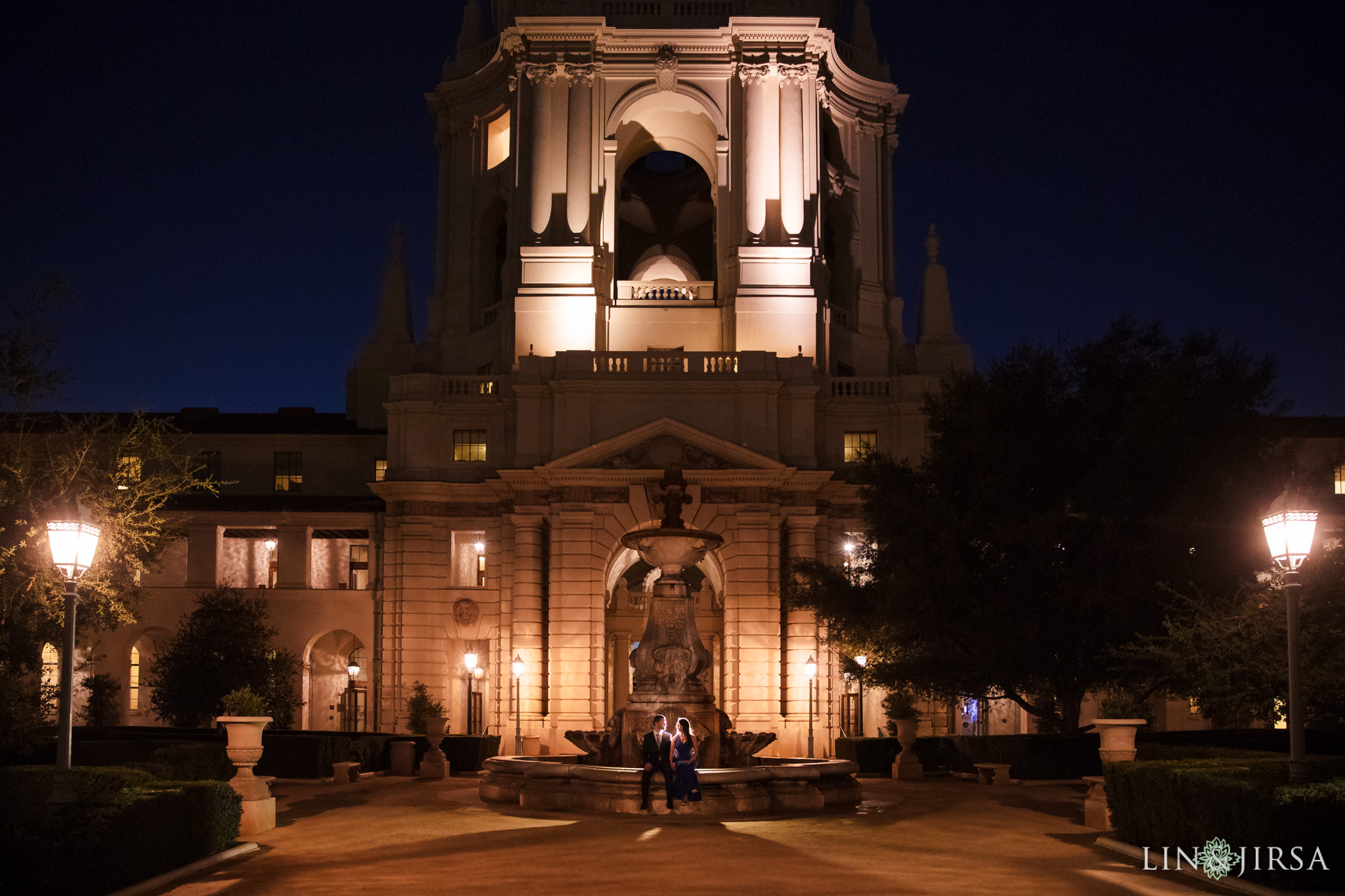 13 pasadena city hall engagement photography