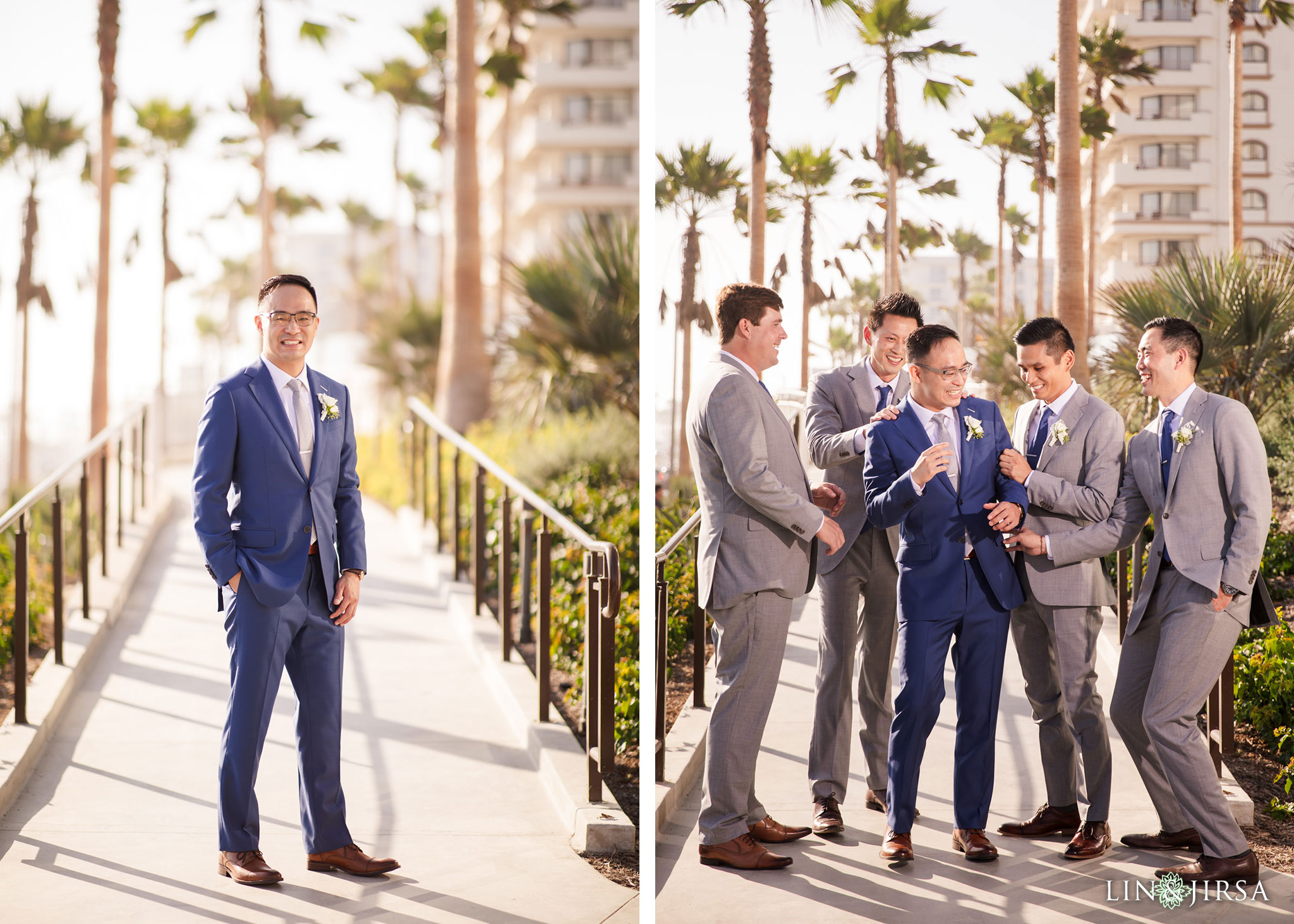 21 The Waterfront Beach Resort Huntington Beach Wedding Photography
