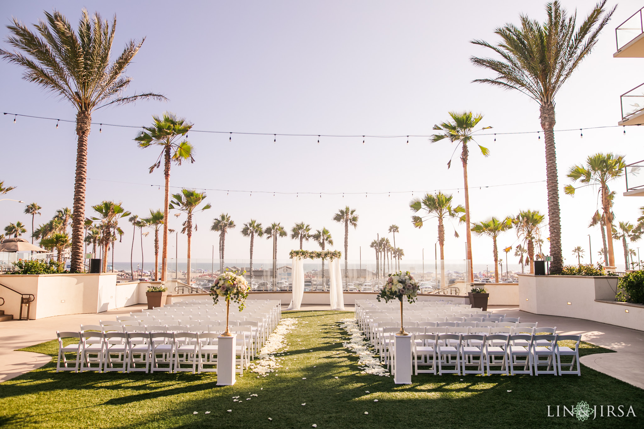 27 The Waterfront Beach Resort Huntington Beach Wedding Photography
