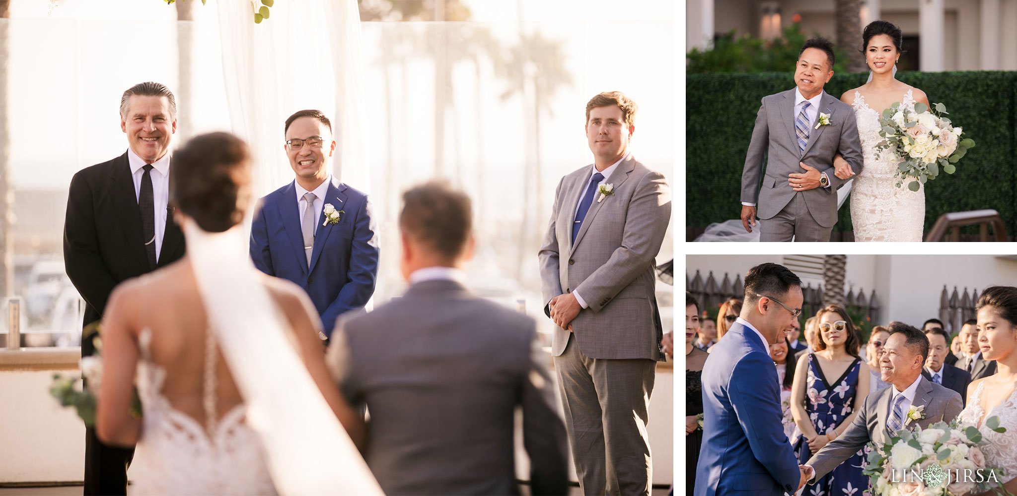 29 The Waterfront Beach Resort Huntington Beach Wedding Photography