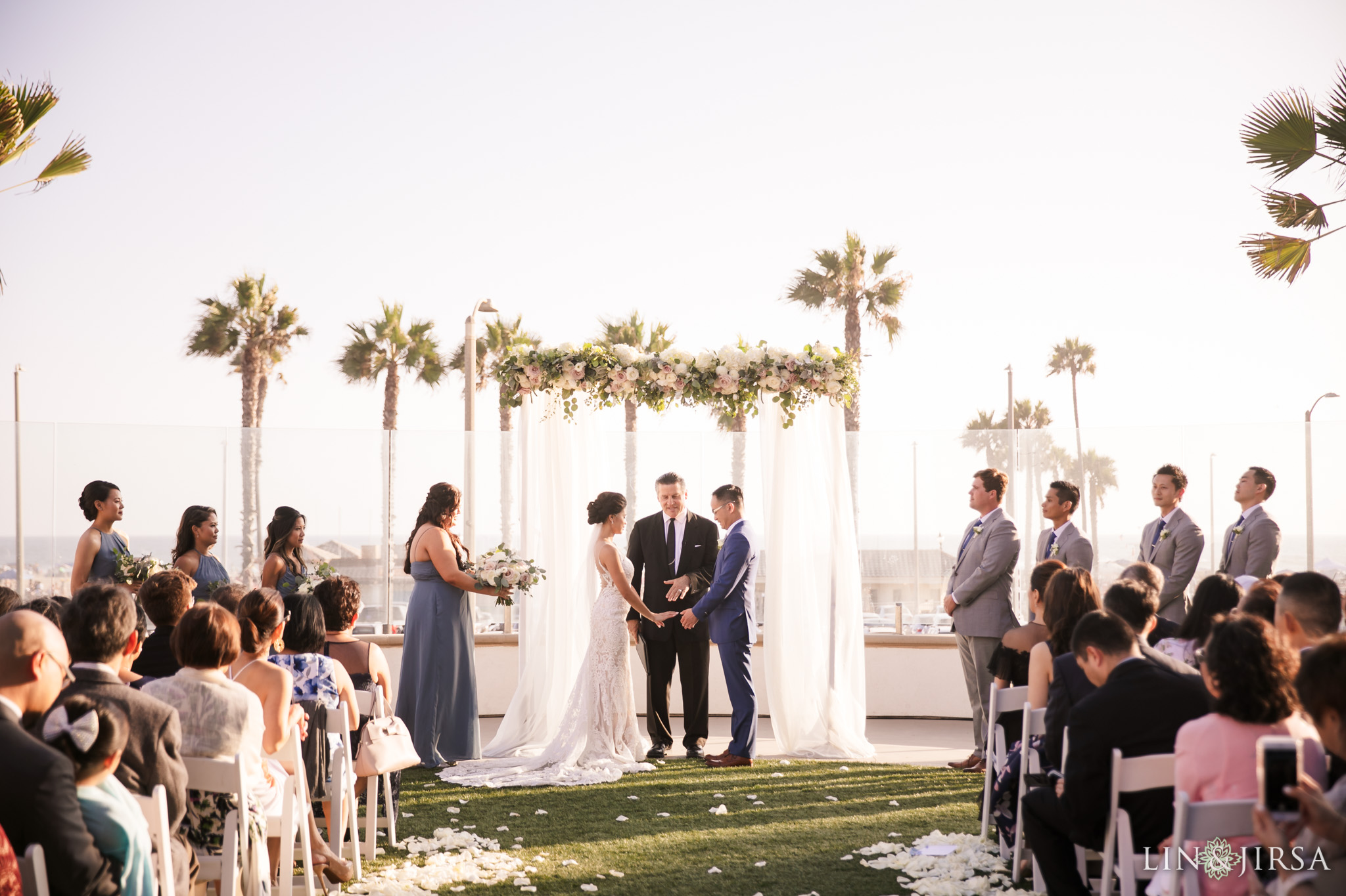 30 The Waterfront Beach Resort Huntington Beach Wedding Photography