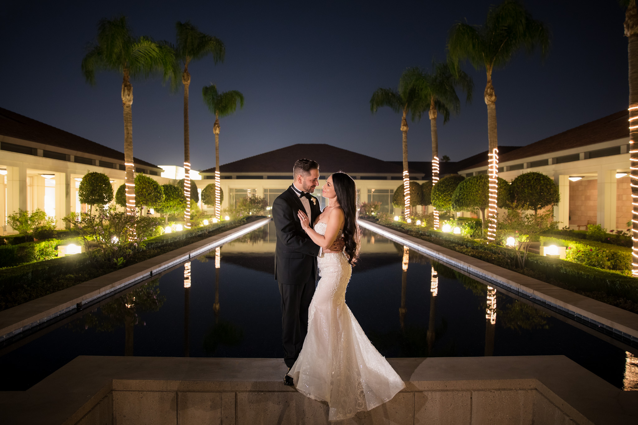 33 Richard Nixon Library Yorba Linda Wedding Photography