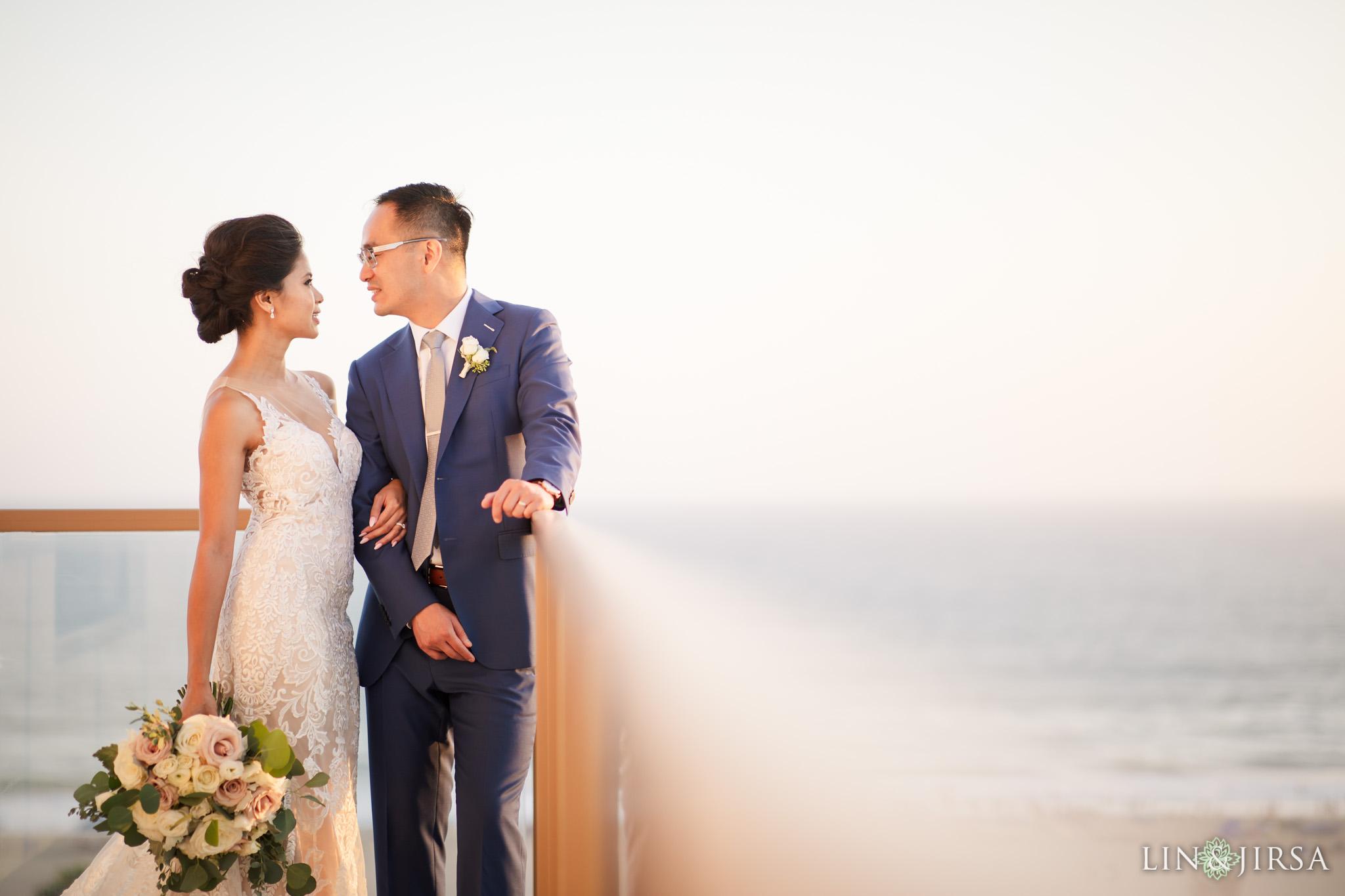 36 The Waterfront Beach Resort Huntington Beach Wedding Photography