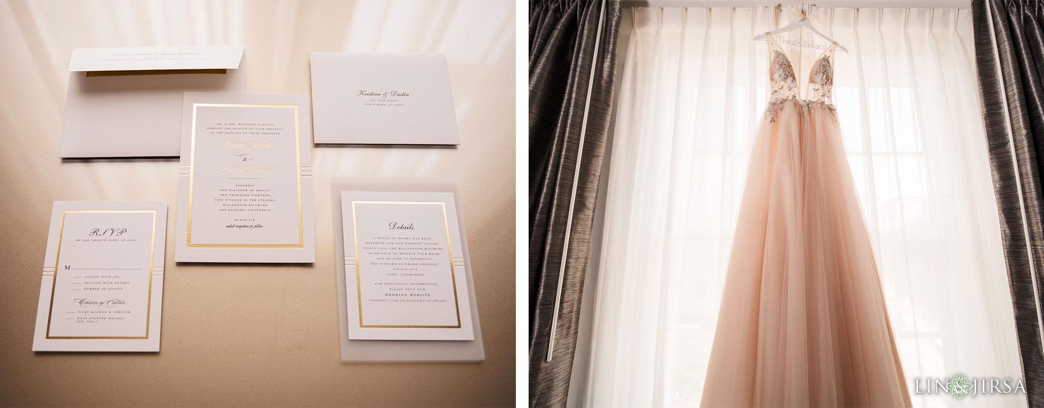 zms millennium biltmore hotel los angeles wedding photography