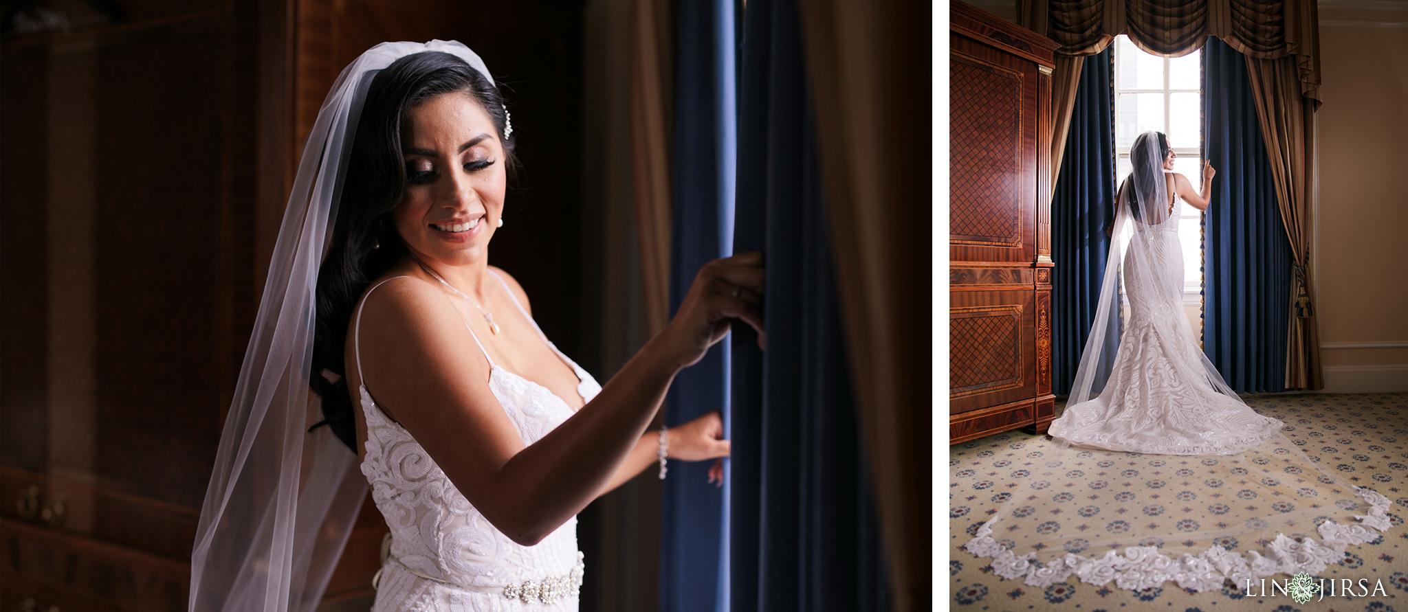 0027 Alexandria Ballroom Los Angeles County Wedding Photography