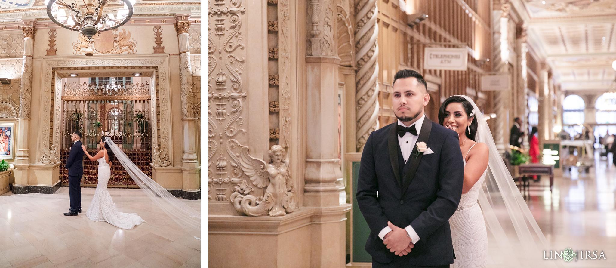 0028 Alexandria Ballroom Los Angeles County Wedding Photography