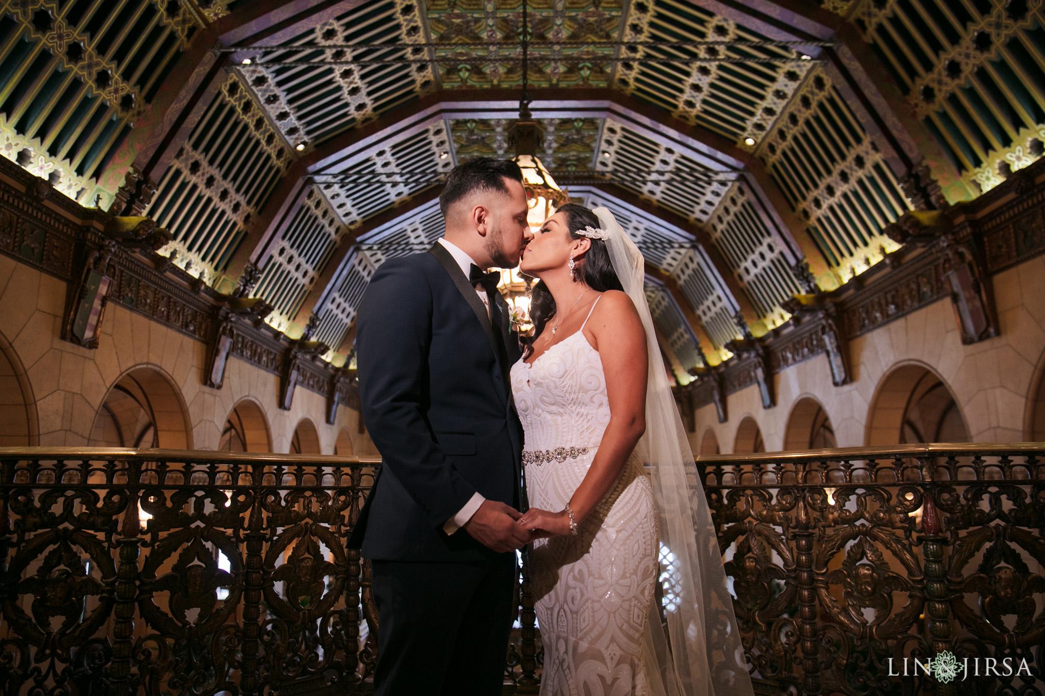 0030 Alexandria Ballroom Los Angeles County Wedding Photography