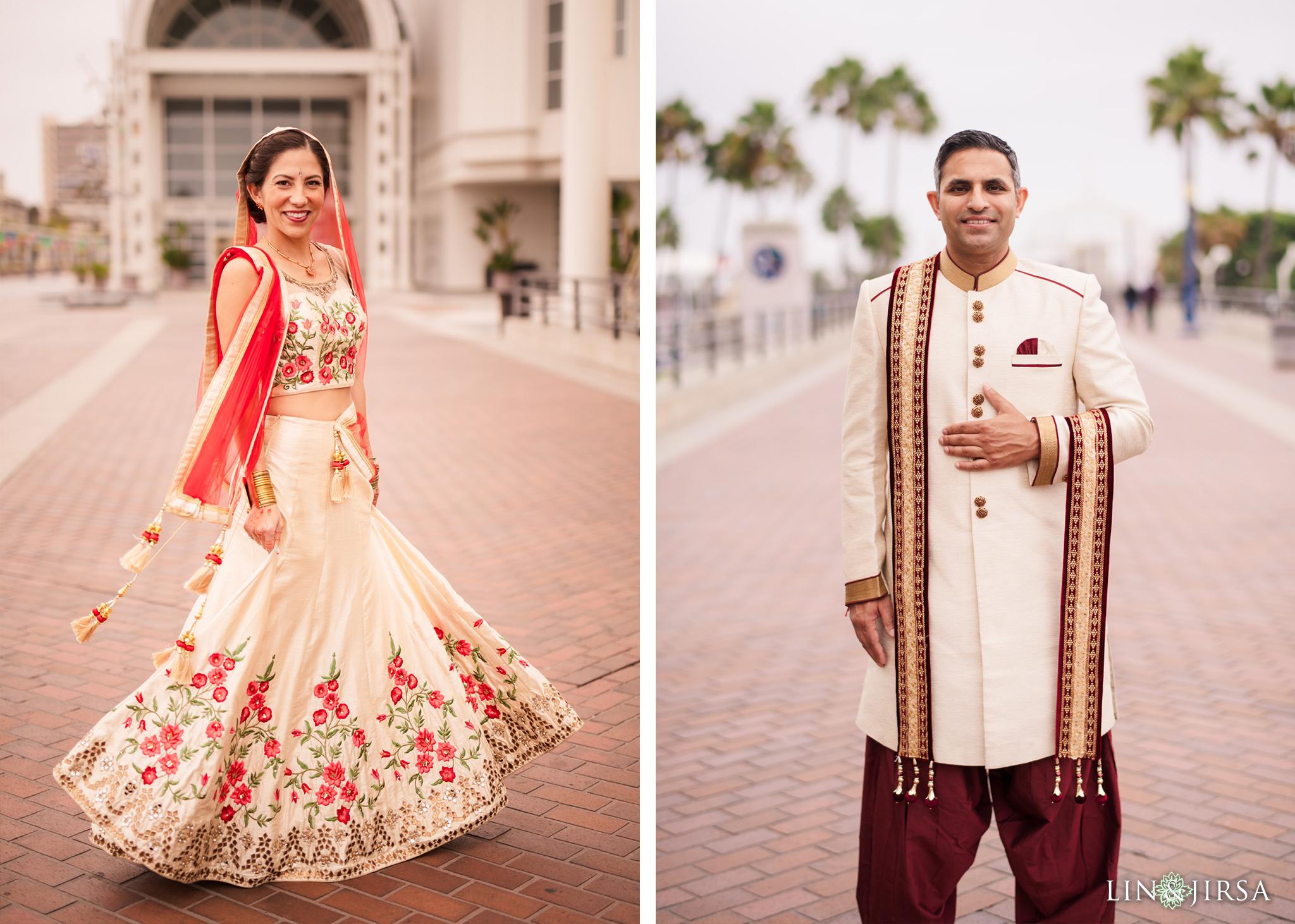 08 Hyatt Long Beach Indian Wedding Photography