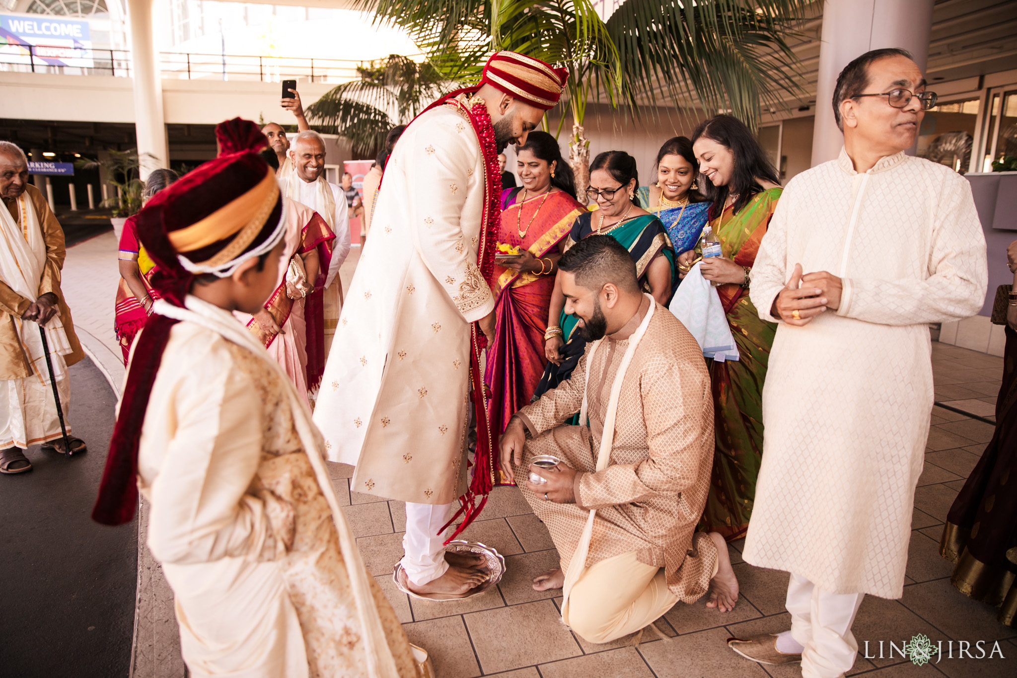 08 long beach hyatt south indian wedding photography