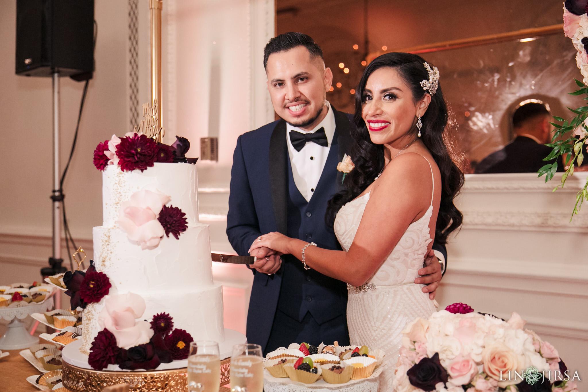 0800 CB Alexandria Ballroom Los Angeles County Wedding Photography